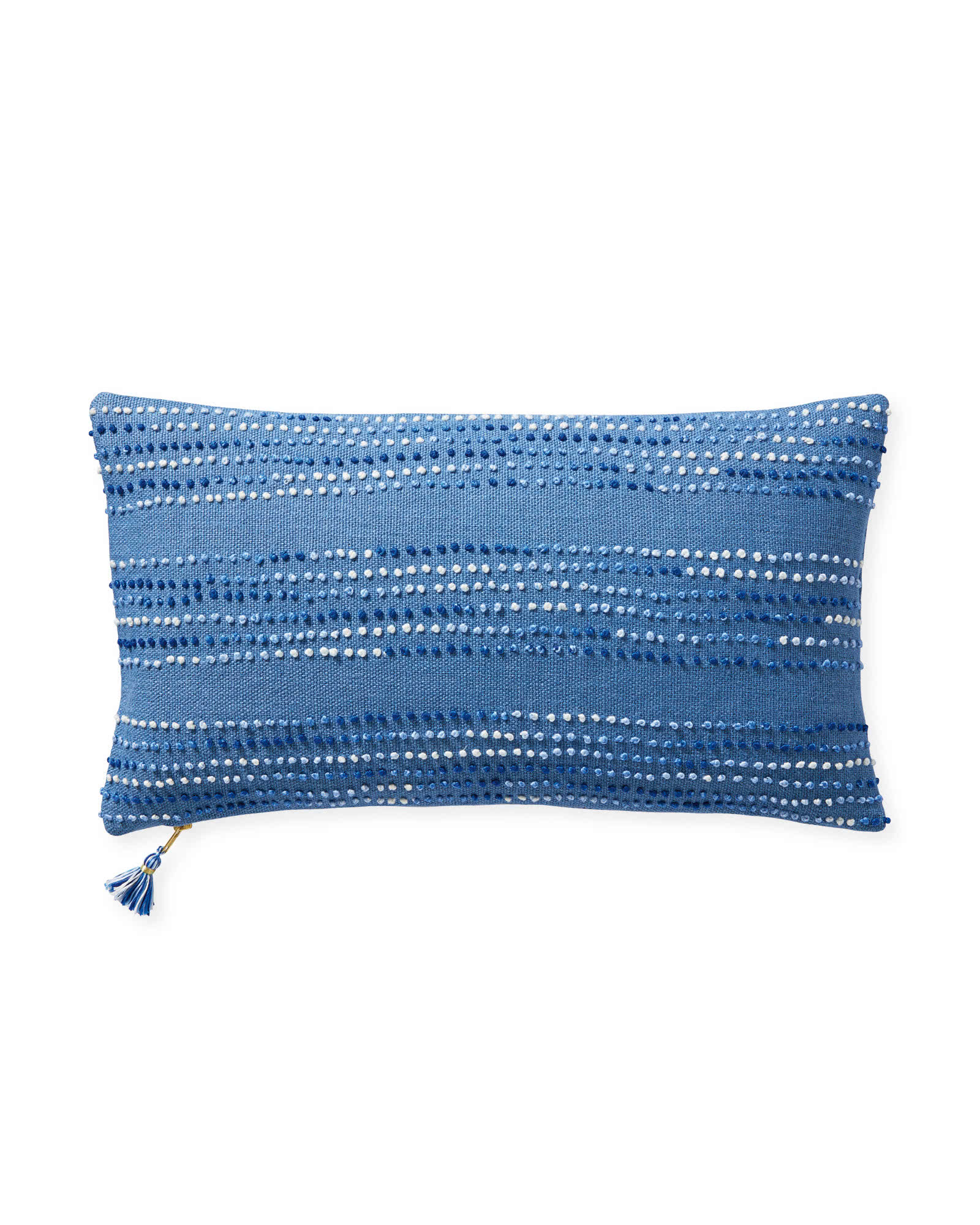 Pryce Pillow Cover, French Blue