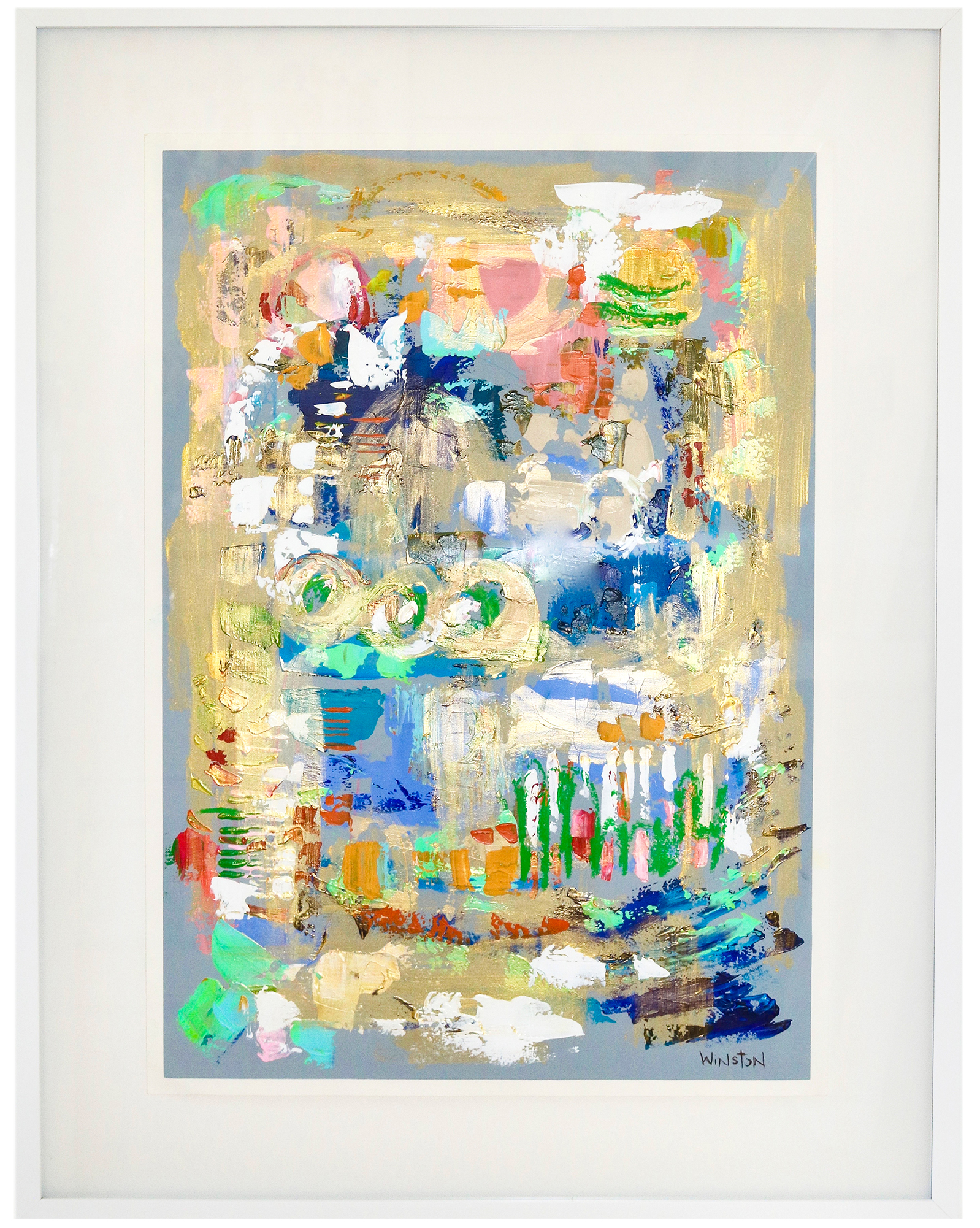 """""""September Paper Series 2"""" by Winston Wiant,"""