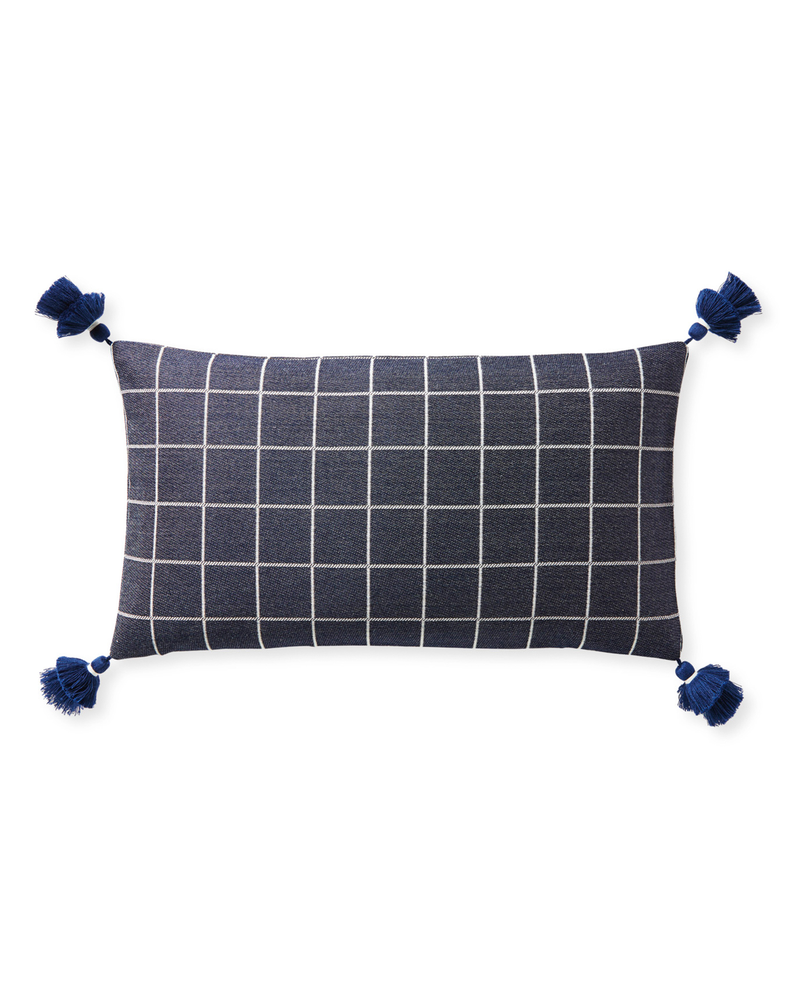 Sunbrella® Mayne Pillow Cover, Navy