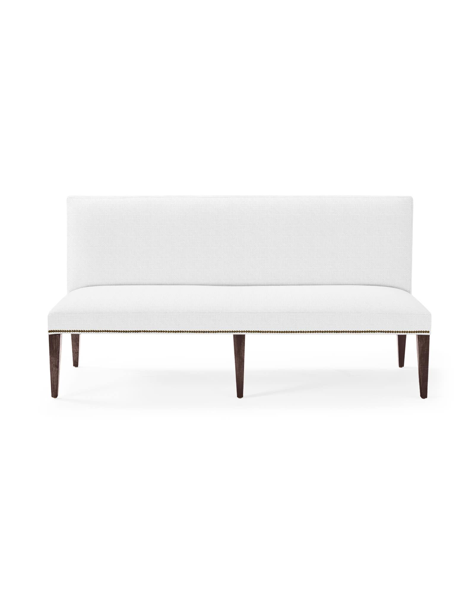 Ross Dining Bench with Nailheads,