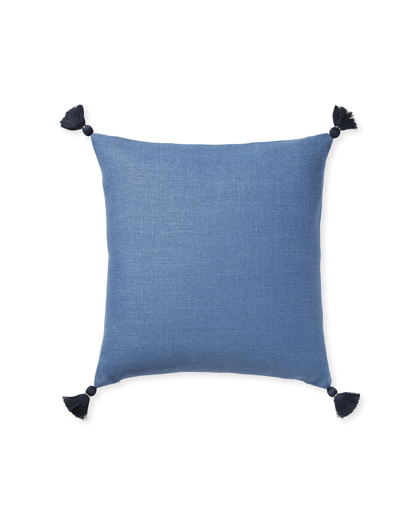 Eva Tassel Pillow Cover, Harbor