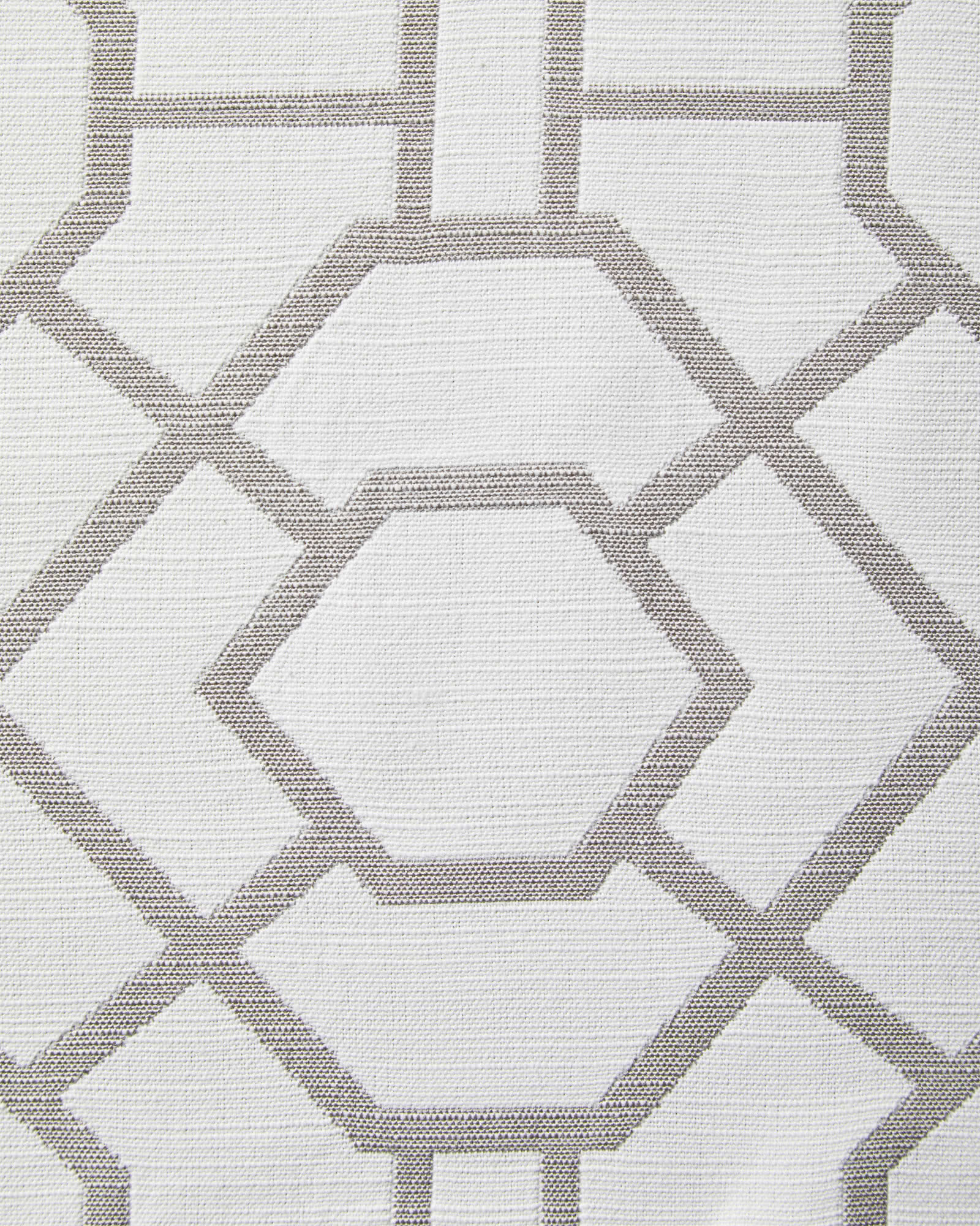 Perennials® Trellis - White/Smoke,