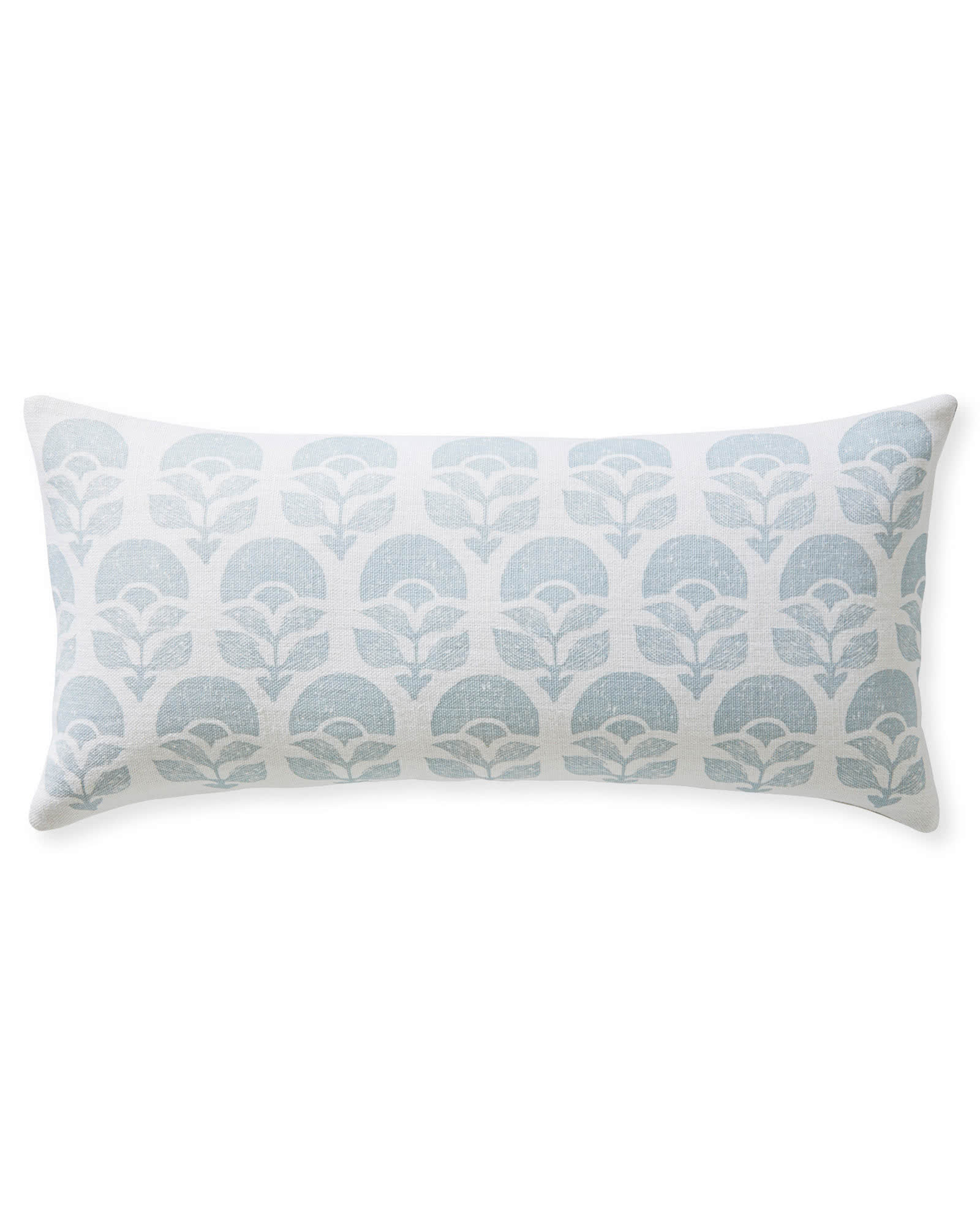 Larkspur Printed Pillow Cover