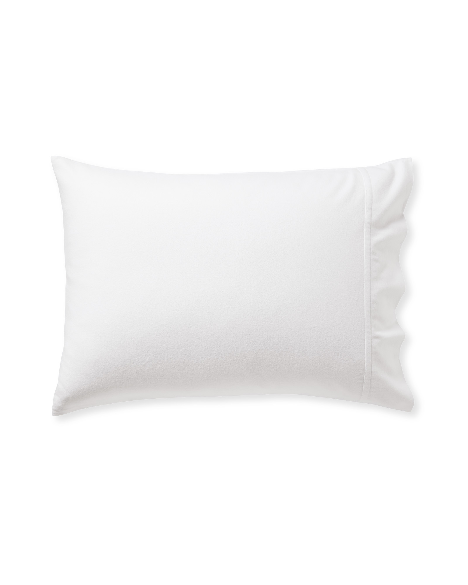 Alpine Flannel Pillowcases (Extra Set of 2), White