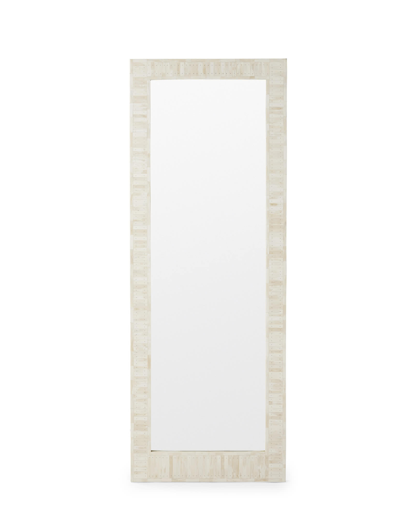 Cyprus Bone Inlay Floor Mirror,