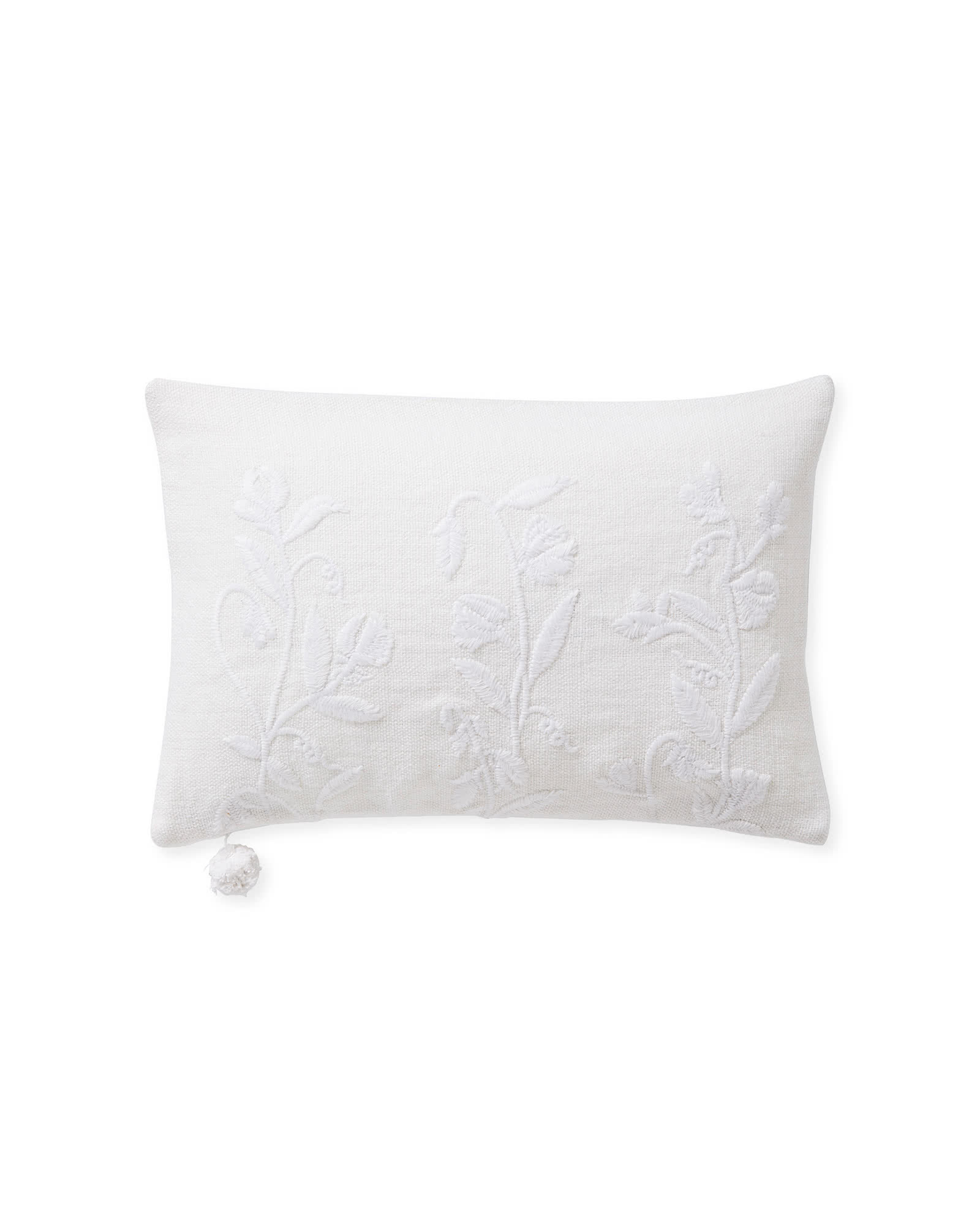 Sweet Pea Pillow Cover,