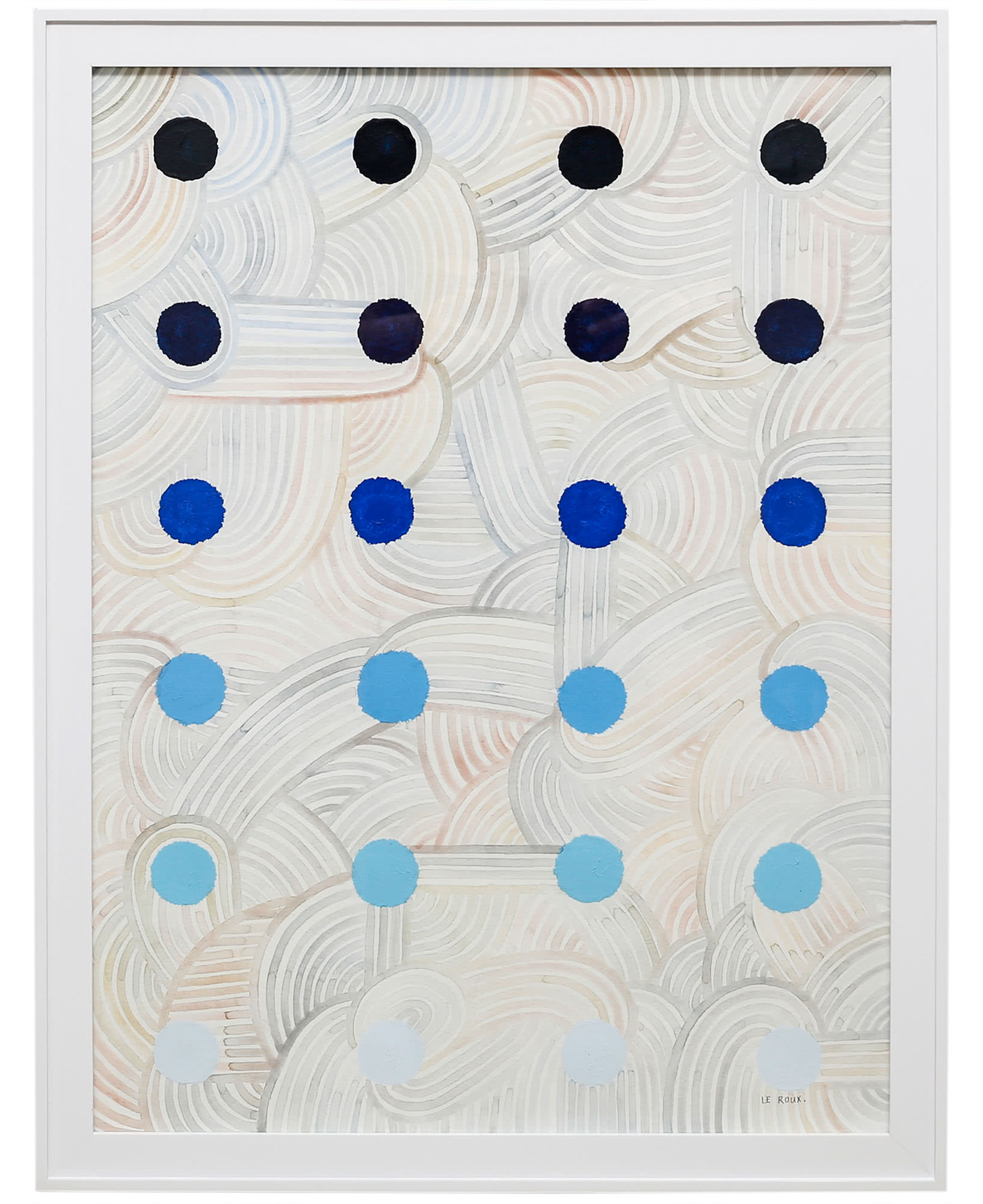 """""""Dots V"""" by Ruth Le Roux ,"""