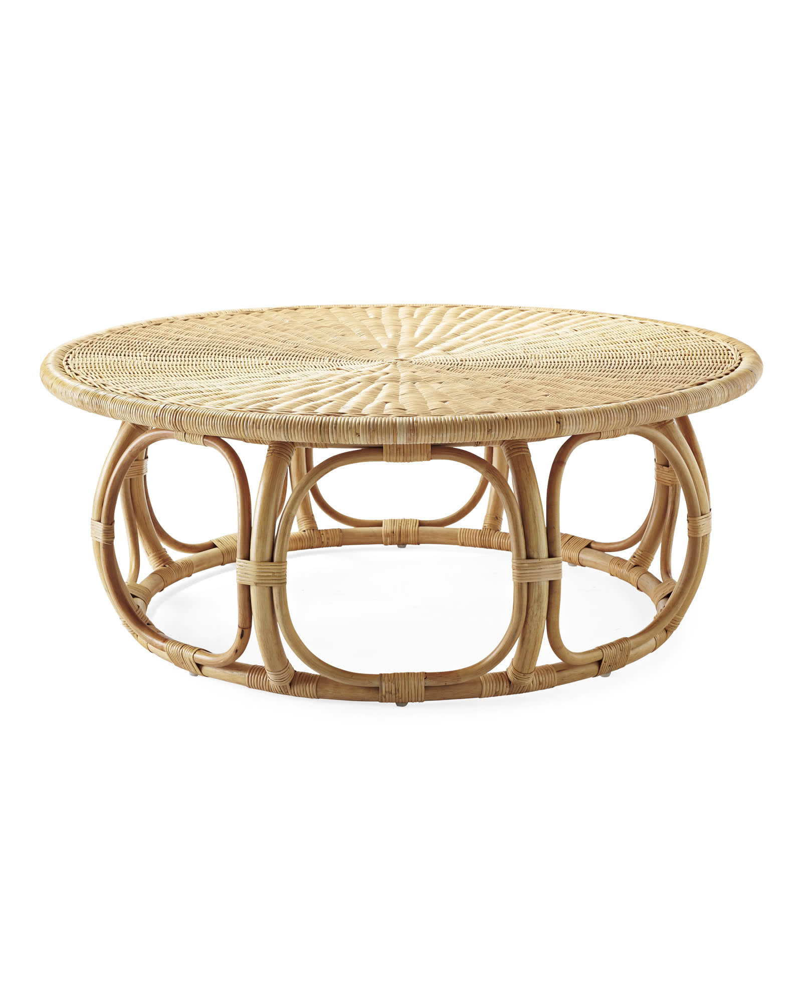 Anguilla Rattan Coffee Table,