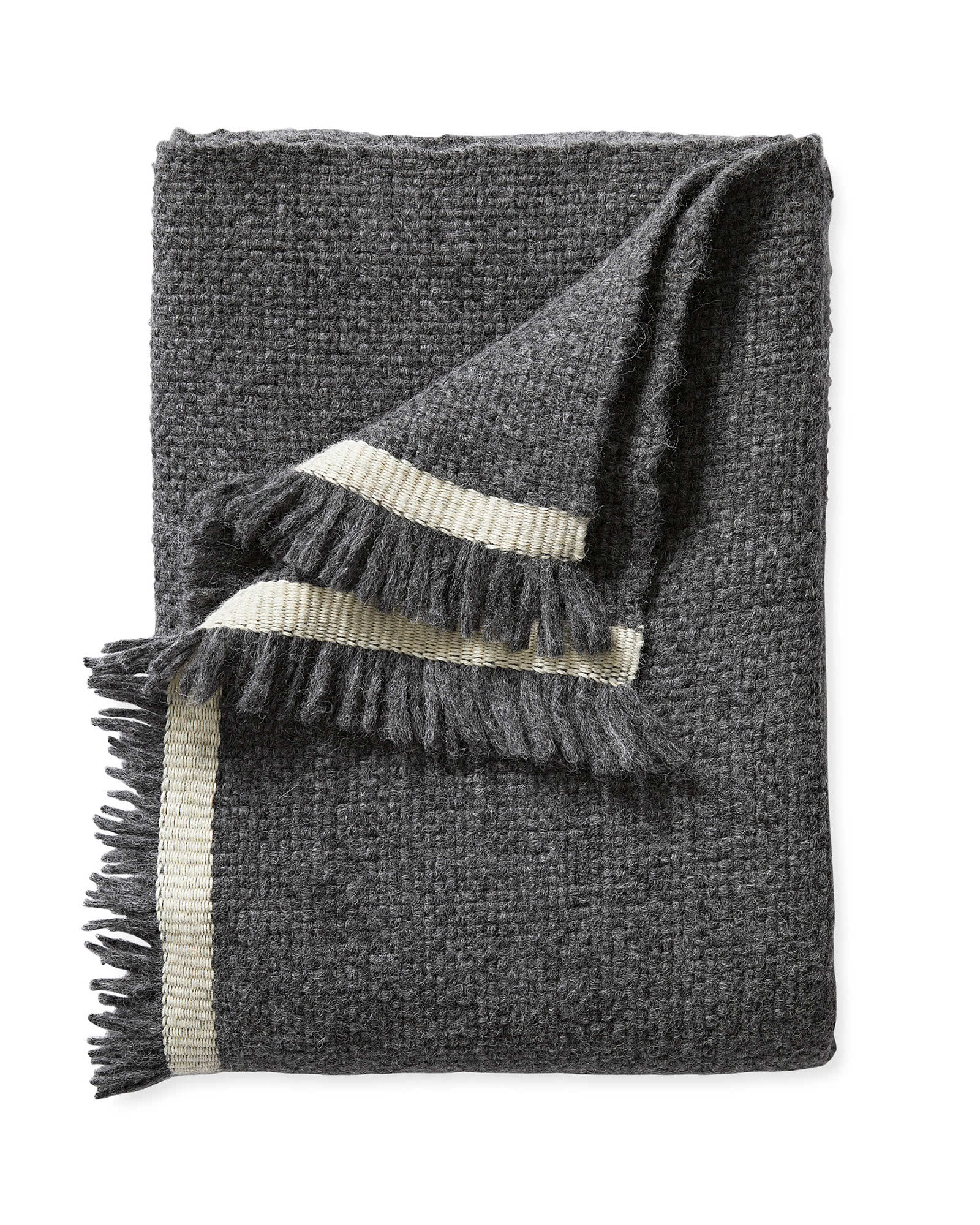 Cairns Throw, Charcoal