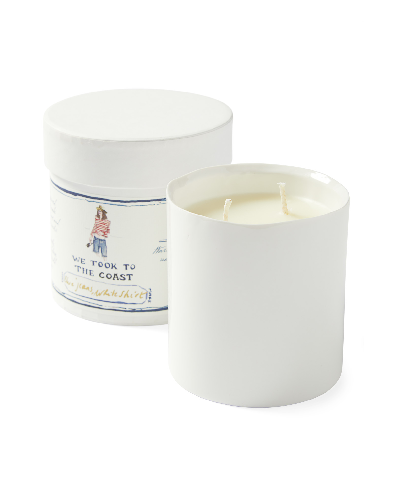 Blue Jeans, White Shirt Candle,