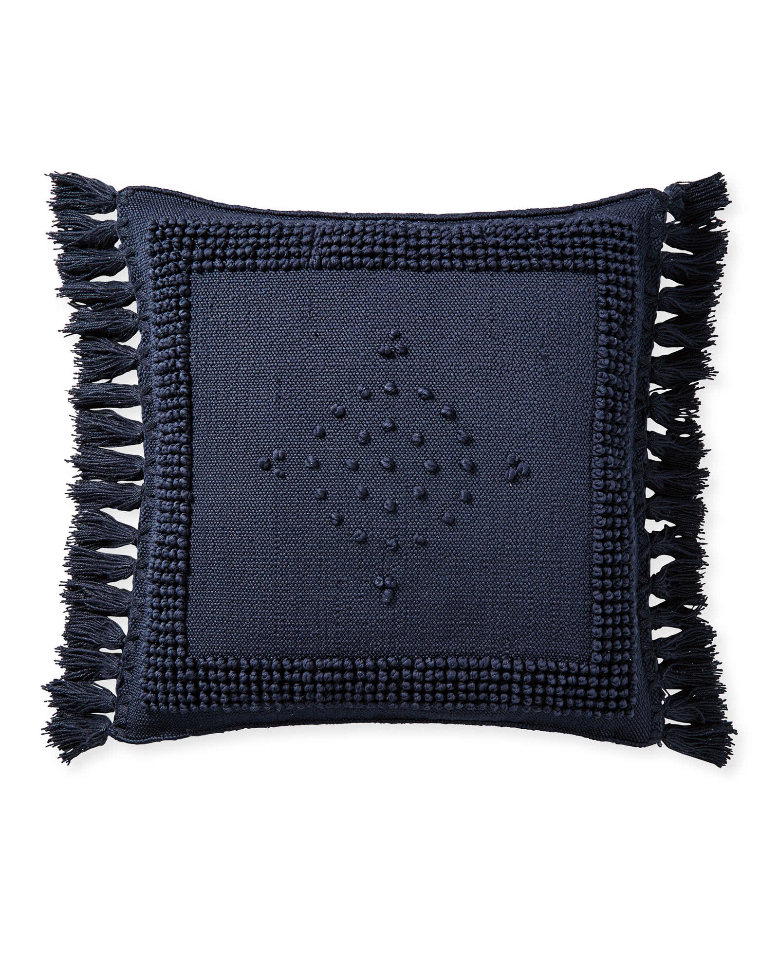 Montecito Pillow Cover, Navy