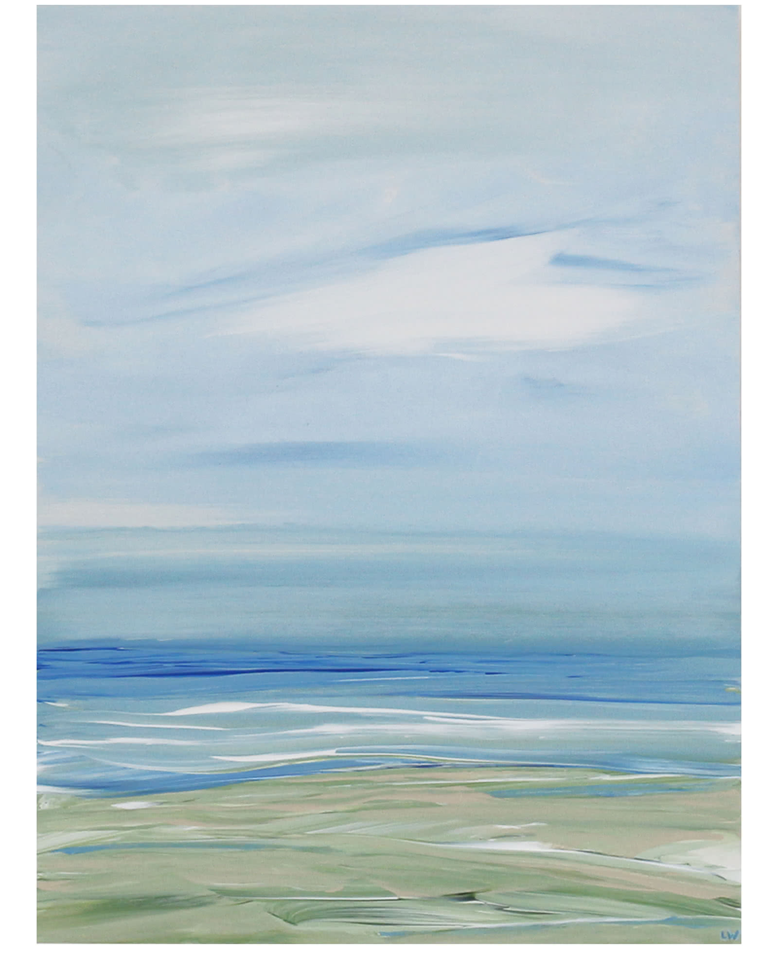 """Ocean Memories 131"" by Laurie Winthers,"
