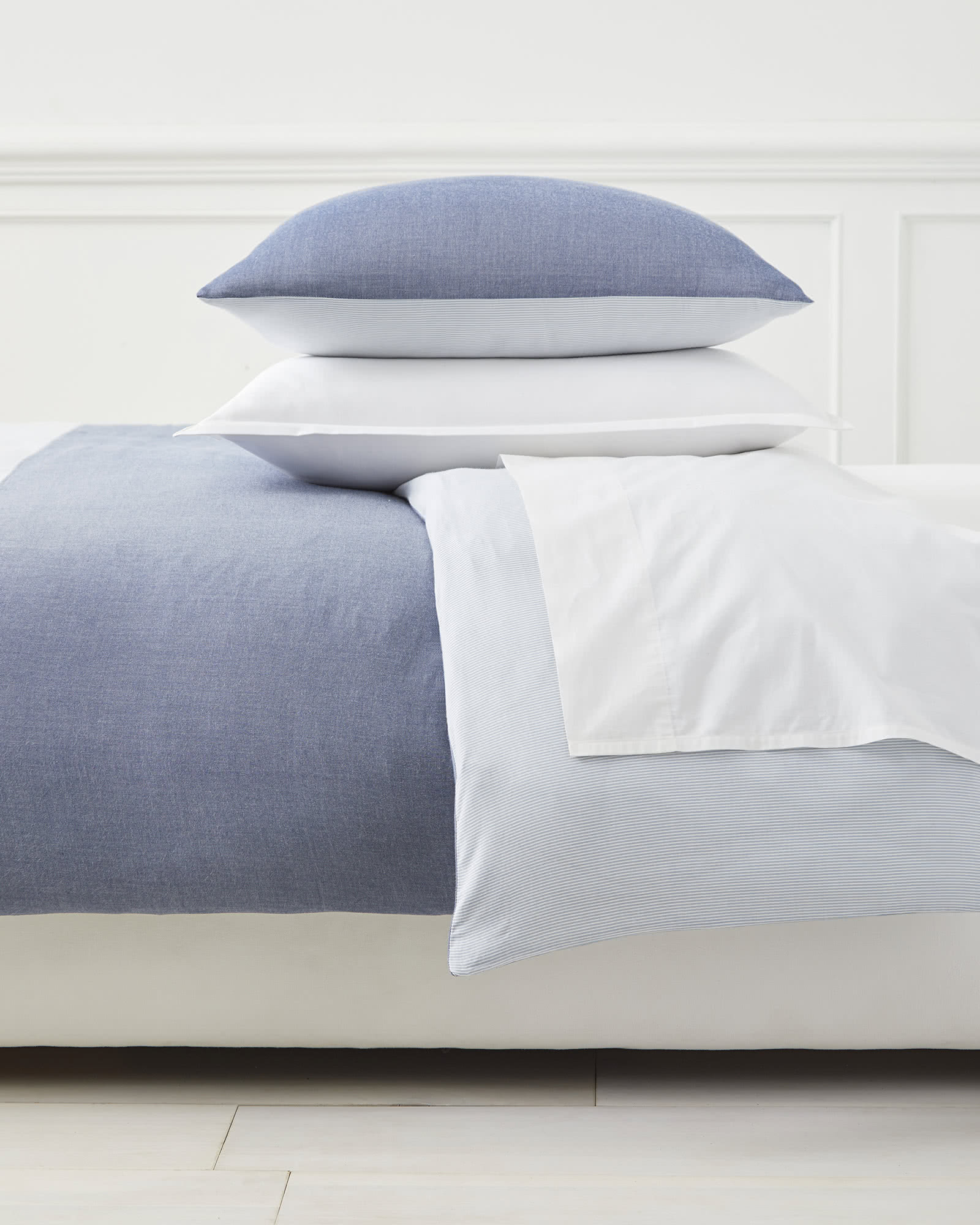 free comforter duvet piece bath shipping today product bedding oceanfront set chambray cover resort overstock coast