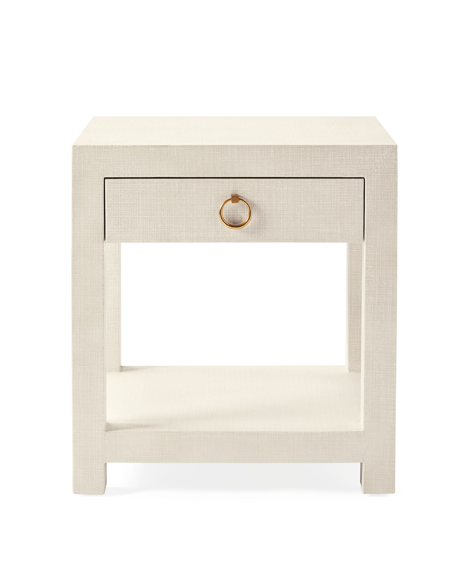 Driftway 1-Drawer Nightstand, Chalk