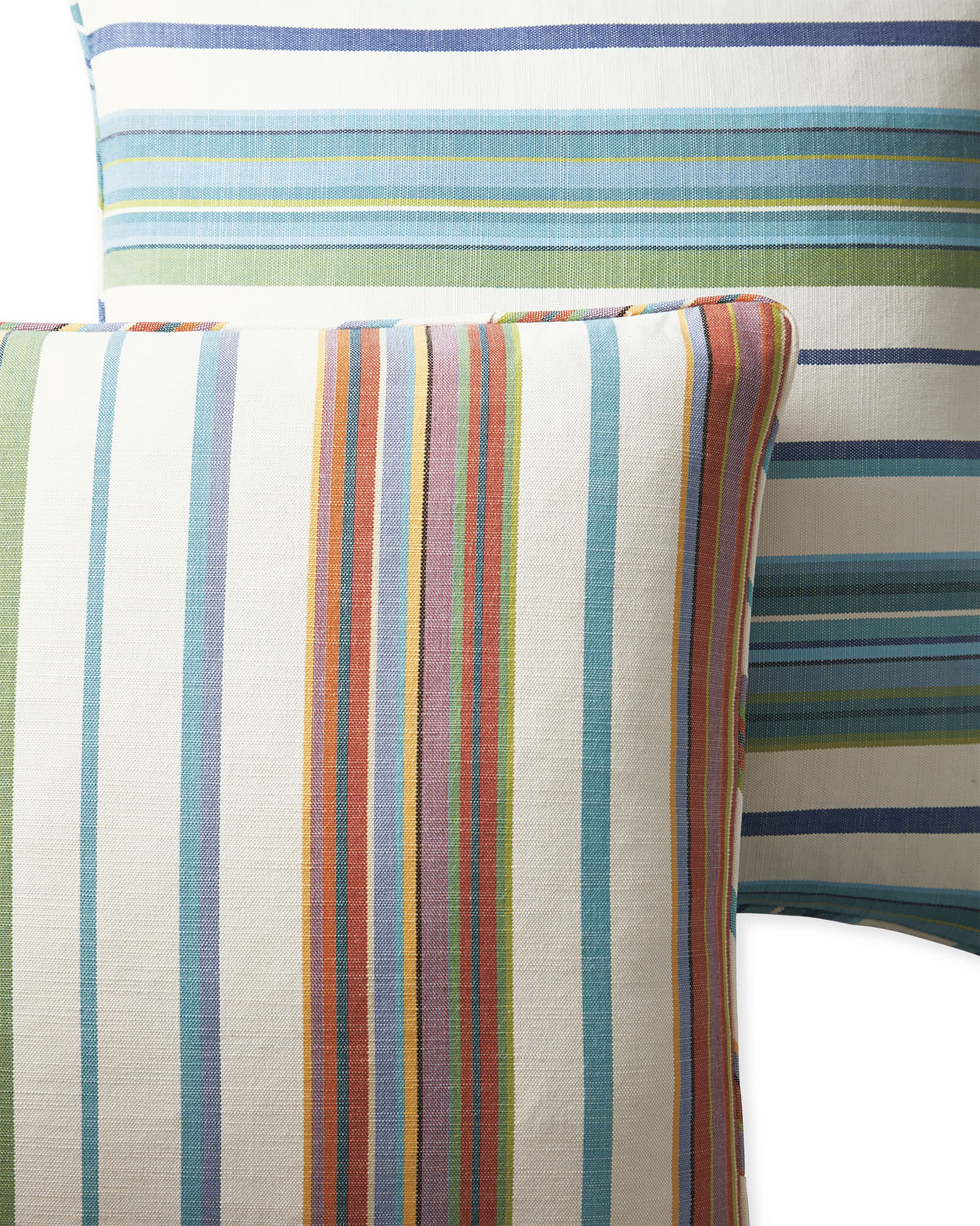 Perennials® Multistripe Pillow Cover, Marine