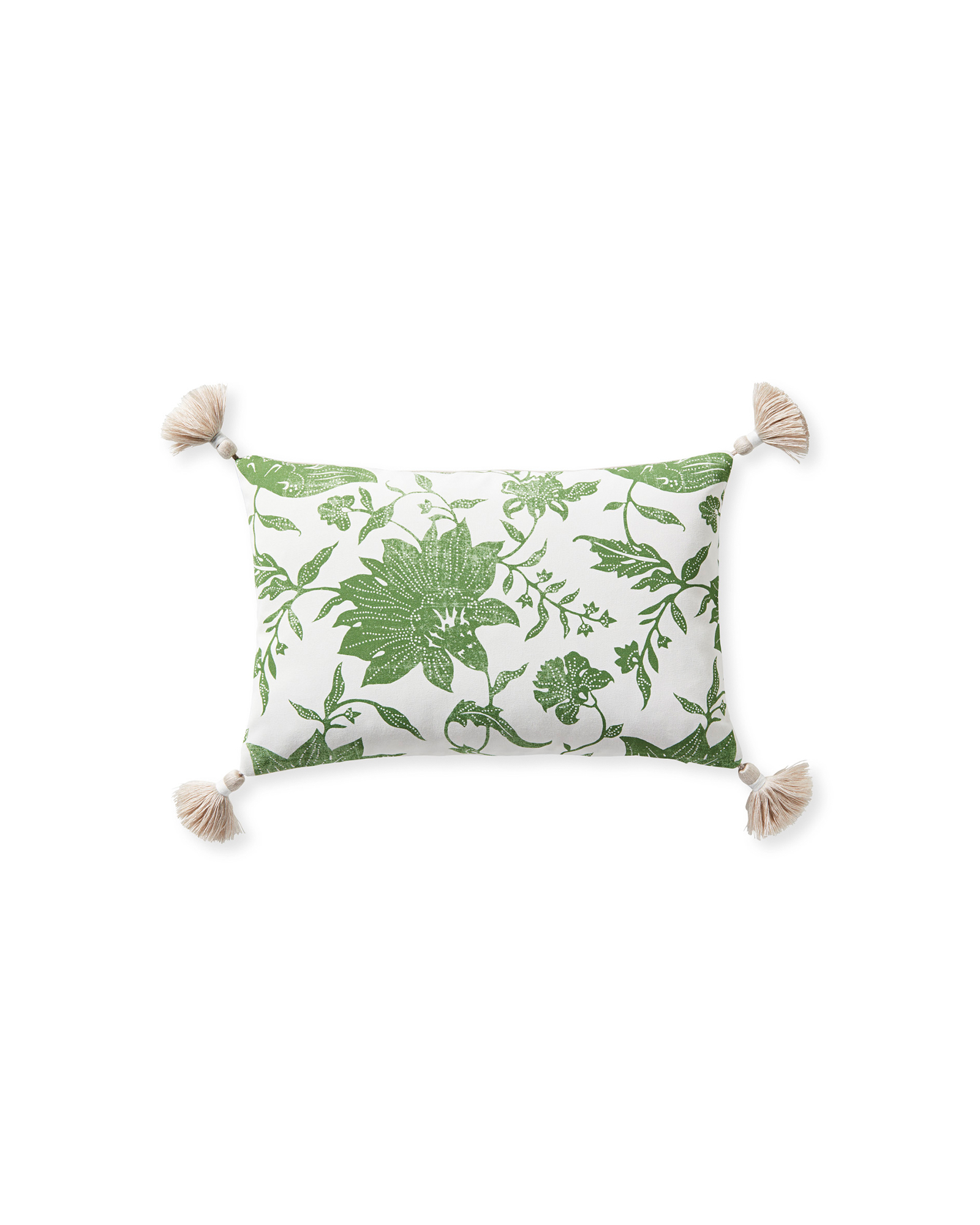 Deauville Pillow Cover, Moss