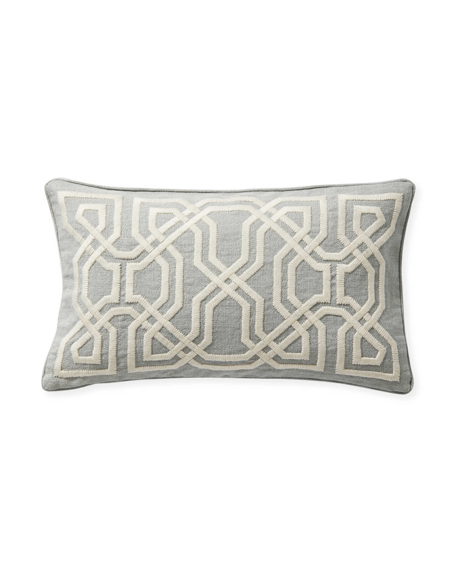 Jetty Pillow Cover - Smoke,