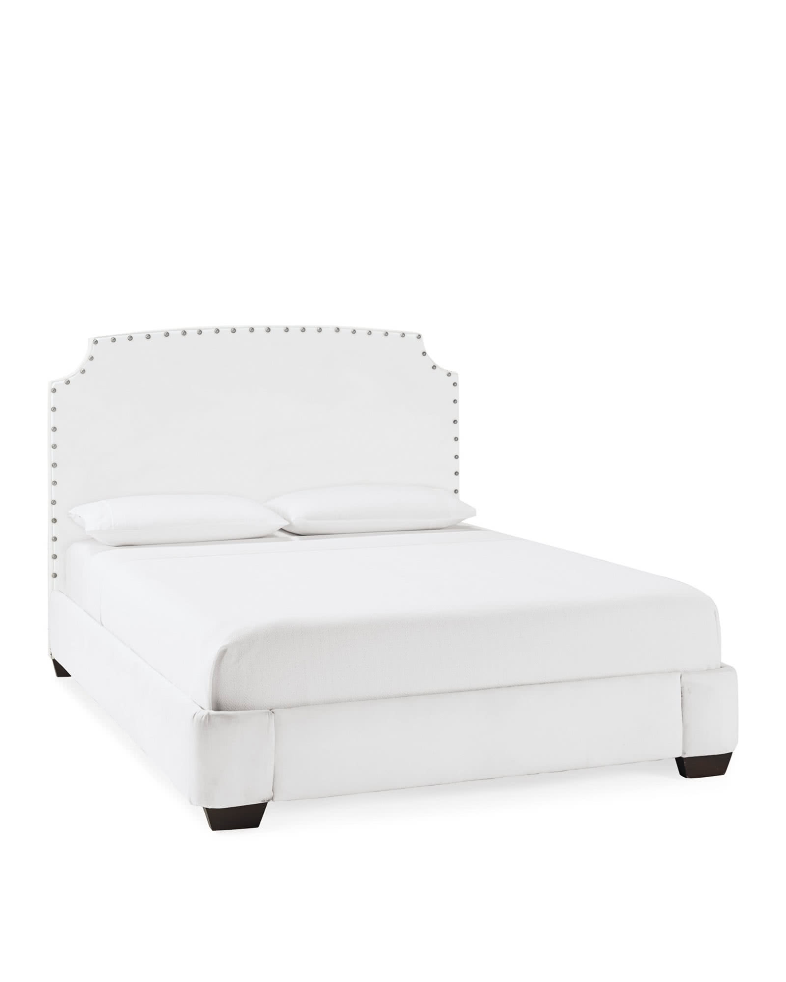 Fillmore Bed with Nailheads,