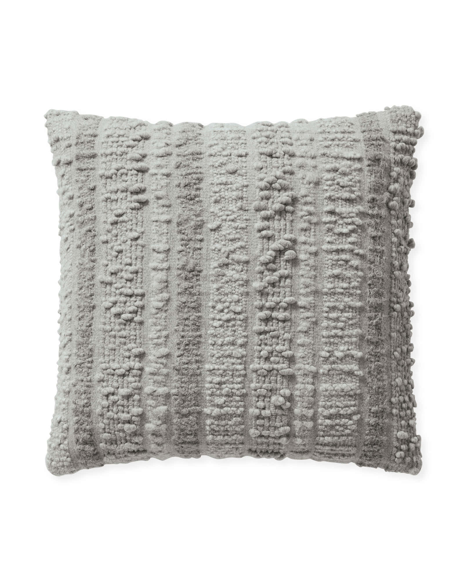 Greenport Pillow Cover, Smoke