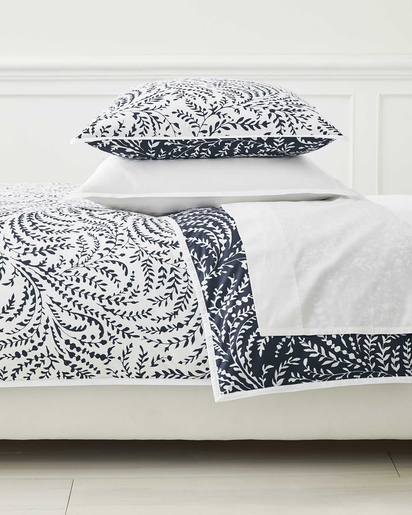 Priano Duvet Cover, Navy