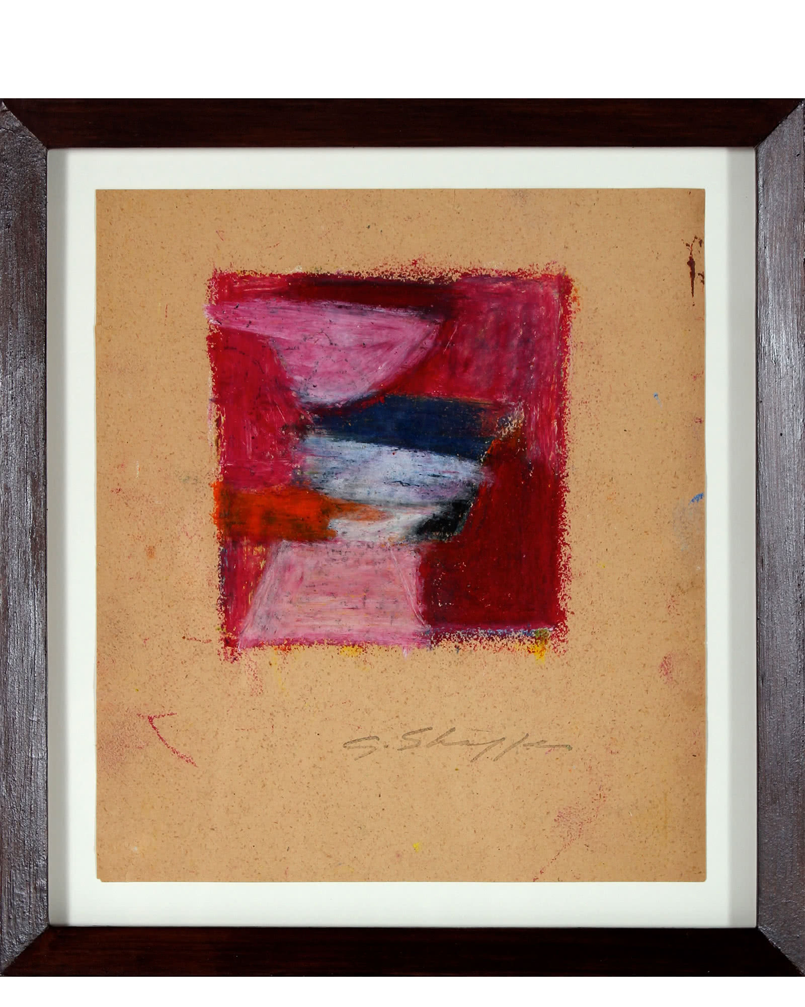 """""""Abstract in Red & Pink"""" by Gary L. Shaffer,"""