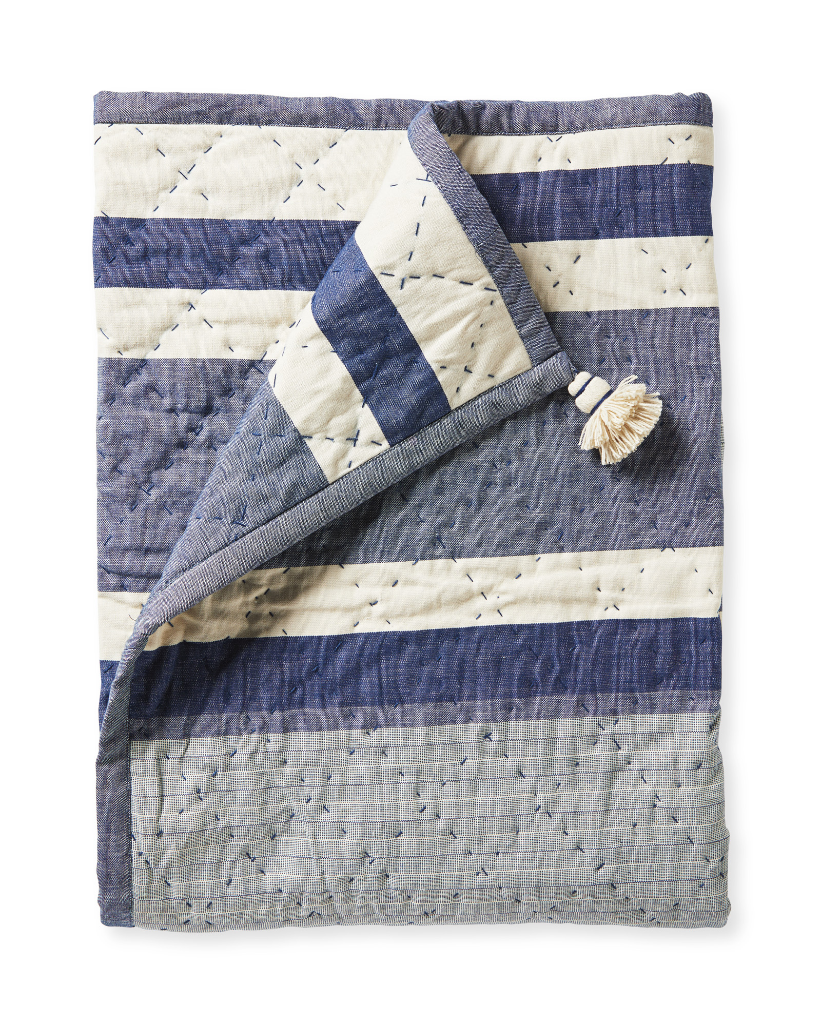 Bayberry Throw, Blue