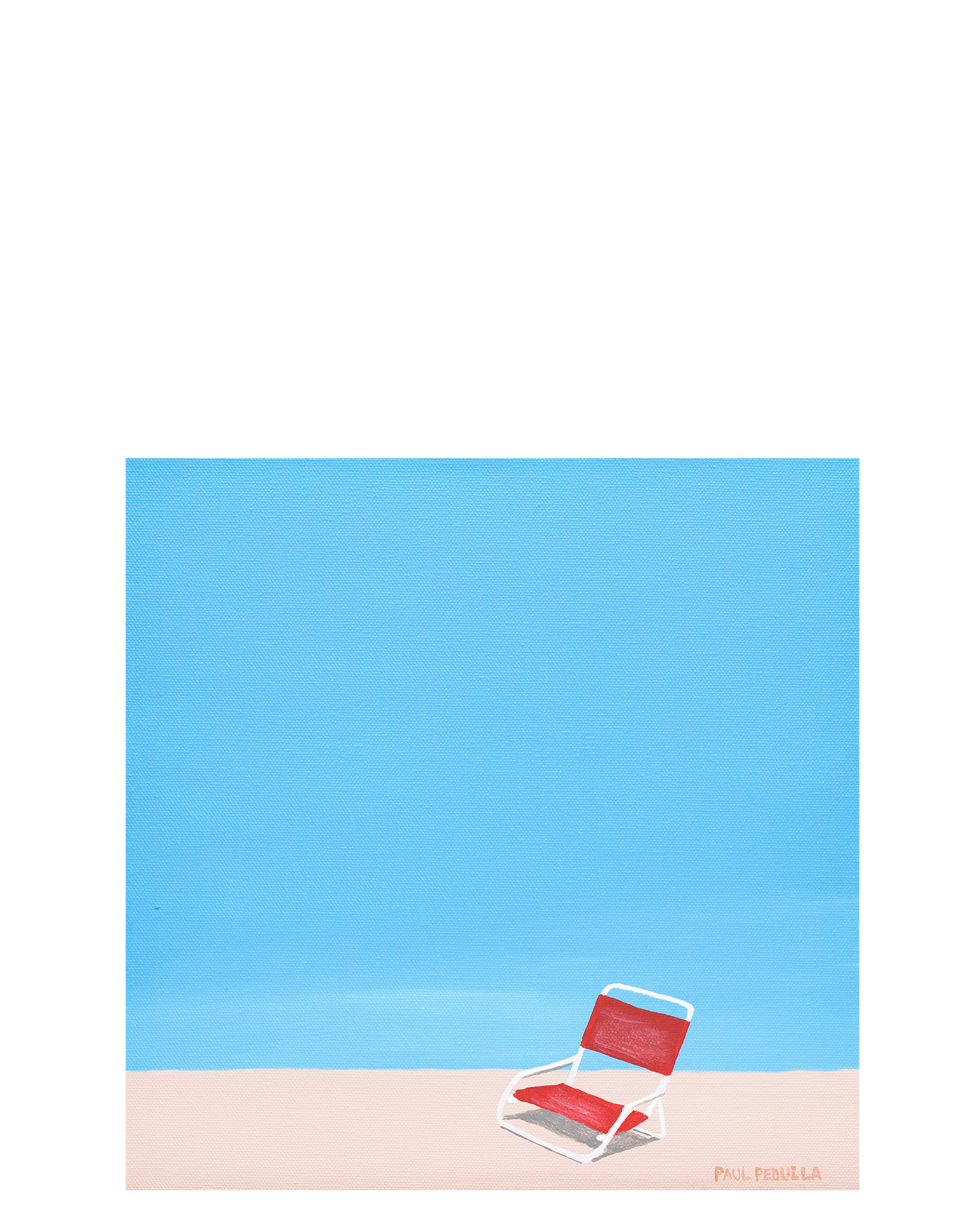 """Red Sand Chair"" by Paul Pedulla,"