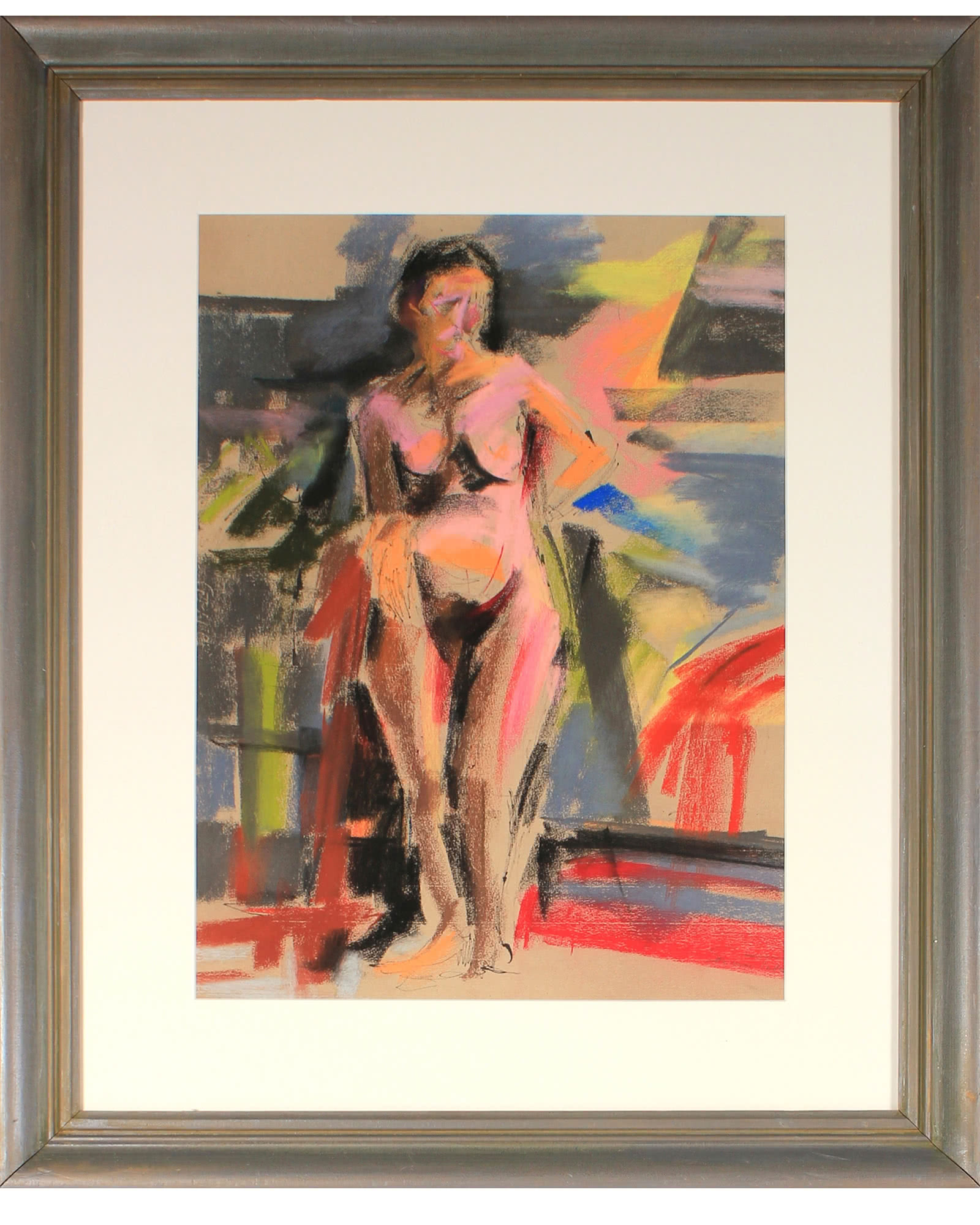 """Standing Nude in Abstraction"" by Seymour Tubis,"