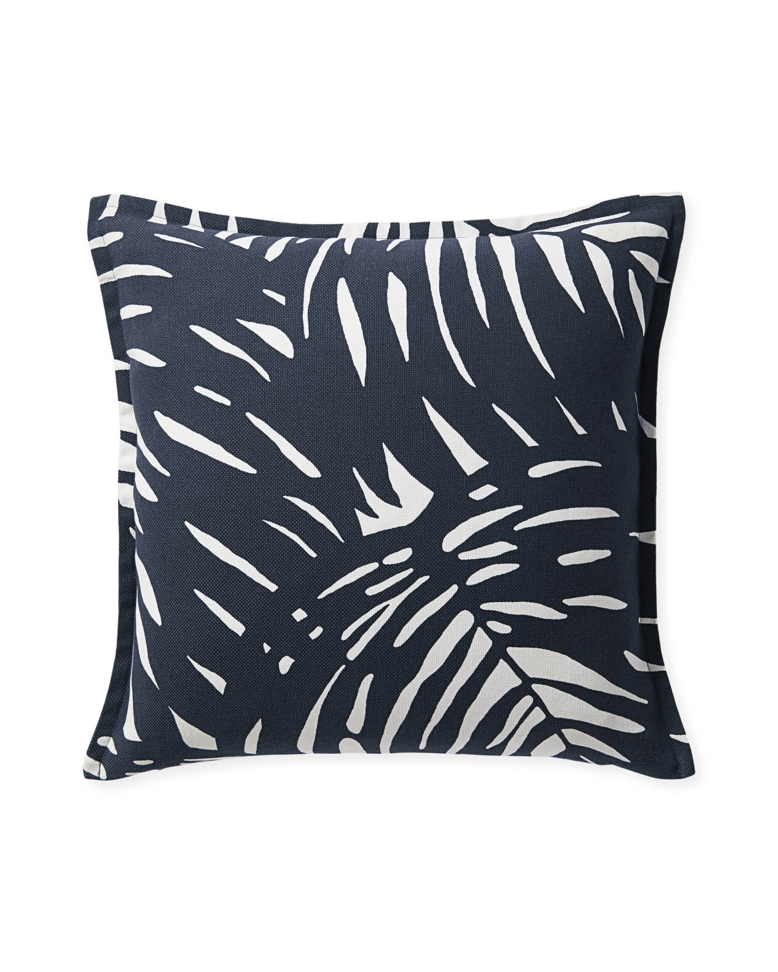 Palm Outdoor Pillow Cover, Midnight