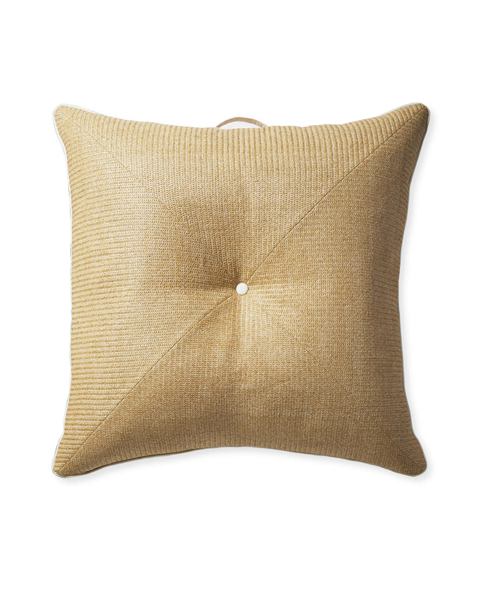 Harbour Island Floor Pillow - Raffia,