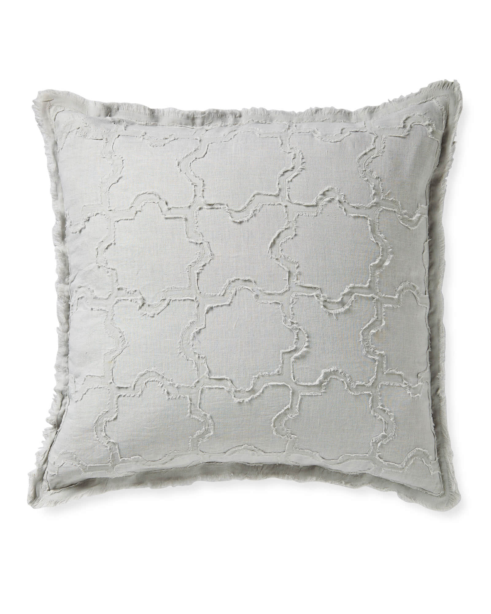 Barcelona Pillow Cover, Fog