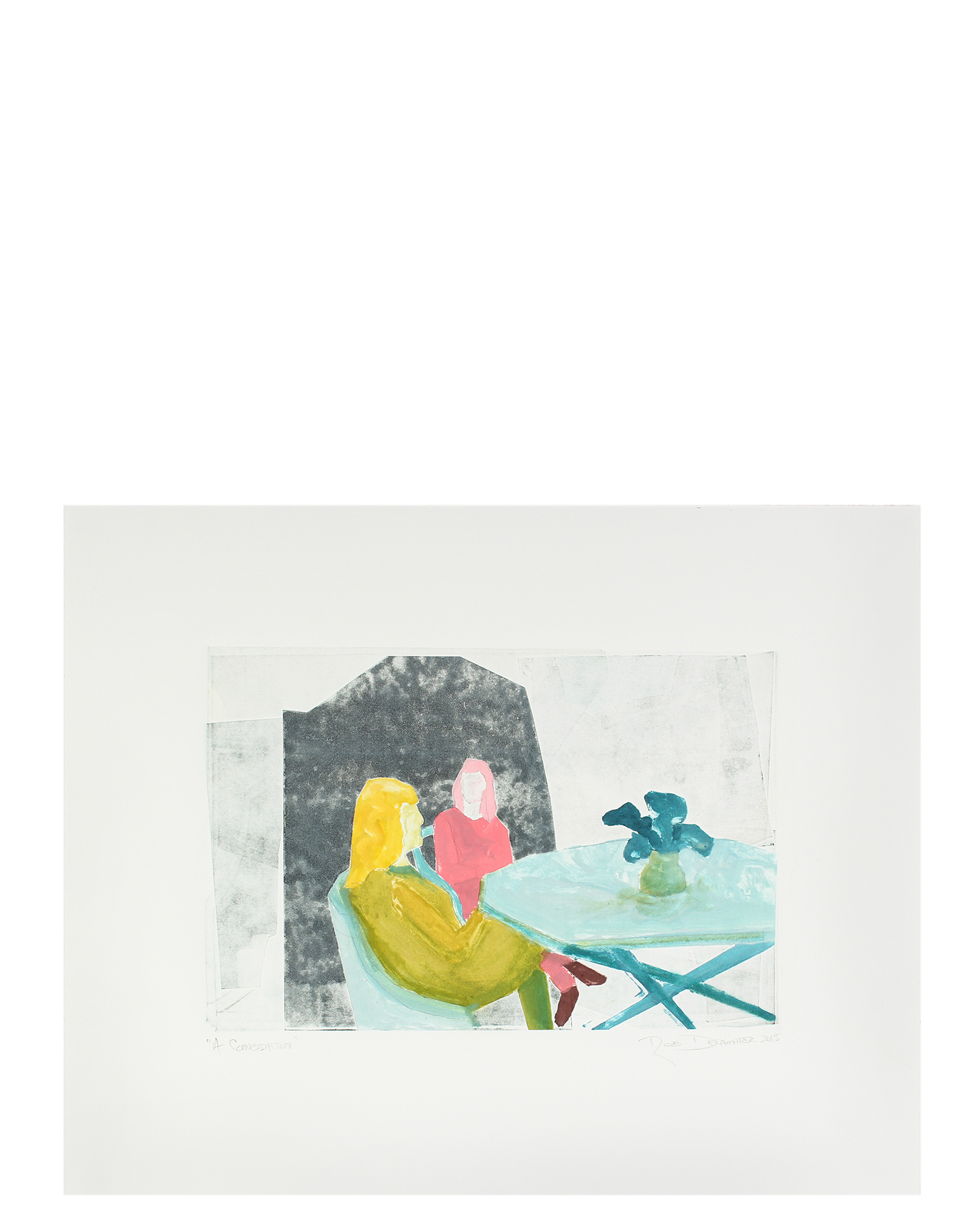 """""""A Conversation"""" by Rob Delamater,"""
