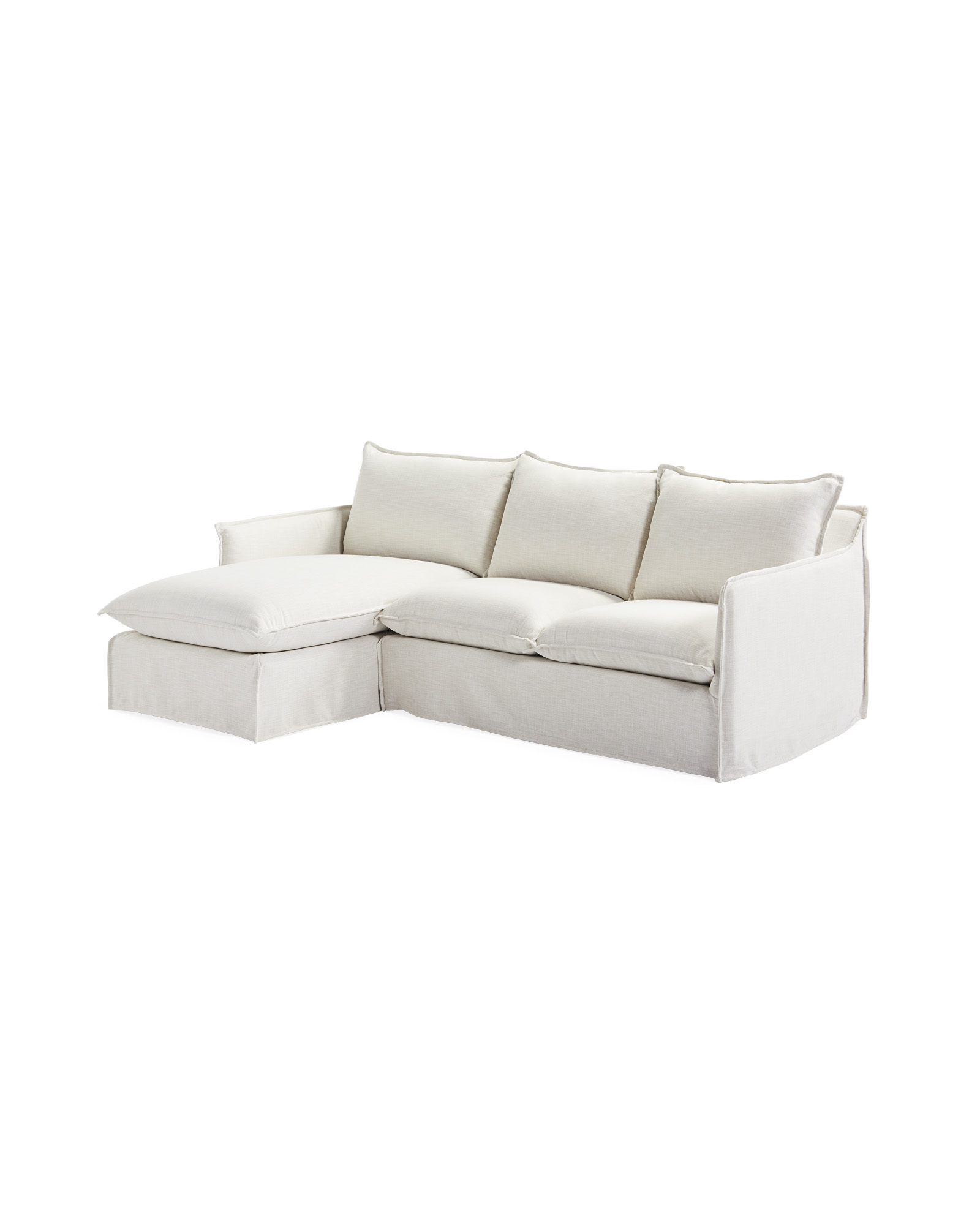 Sundial Outdoor Chaise Sectional - Left-Facing,