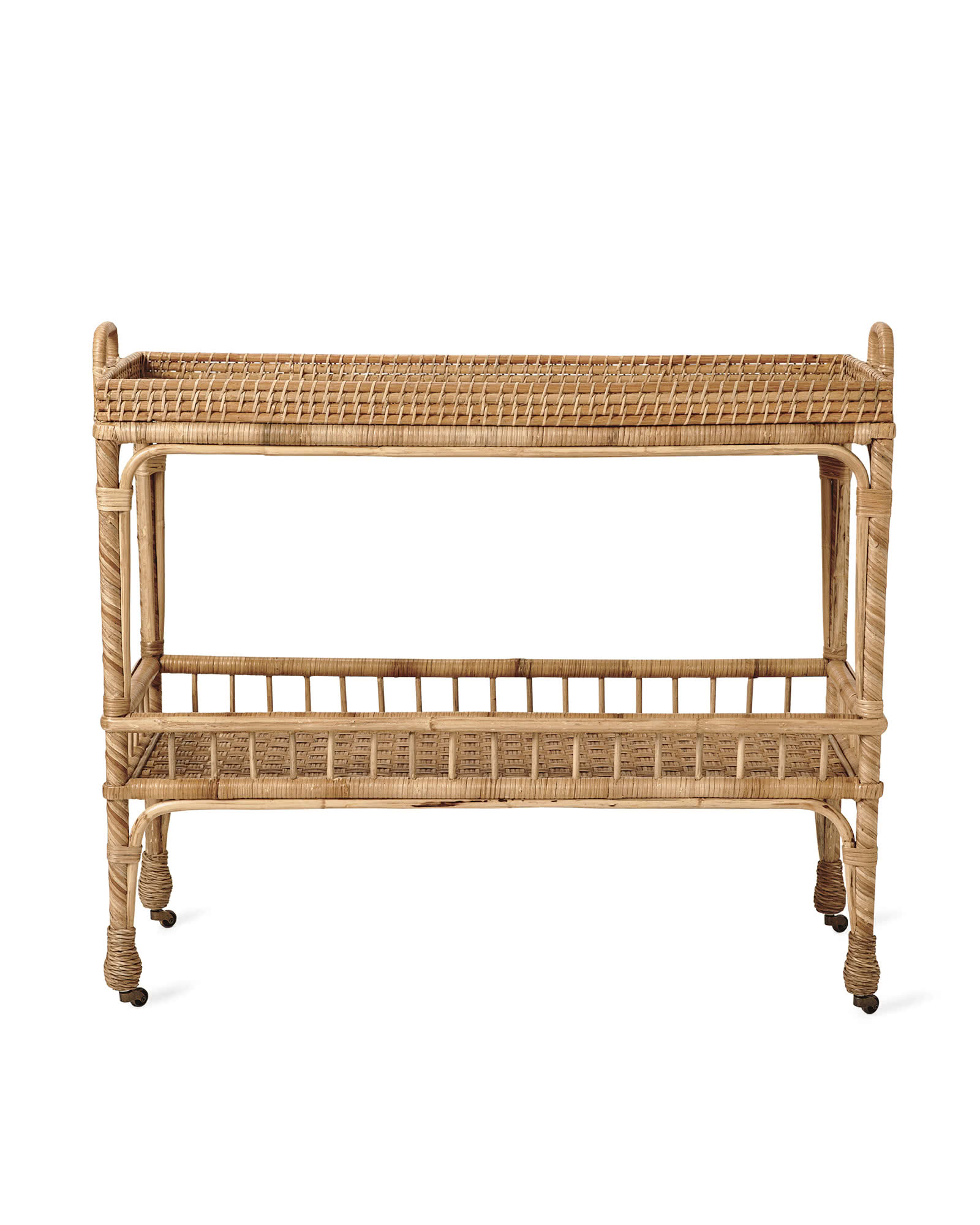 South Seas Bar Cart, Natural