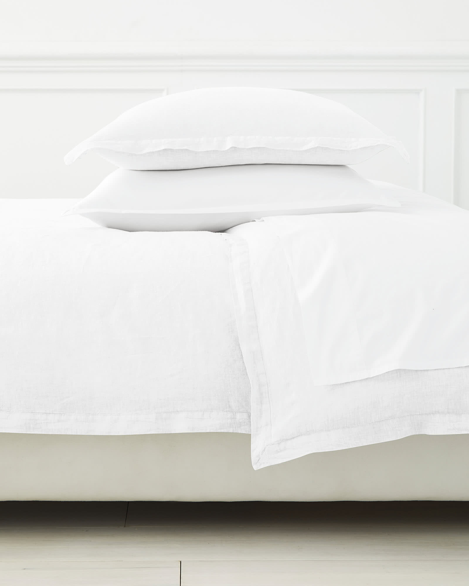 Cavallo Linen Bedding Set, White