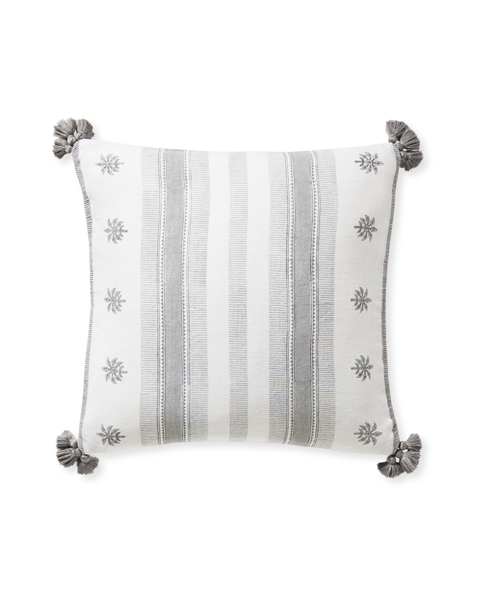 Saltspring Pillow Cover, Fog