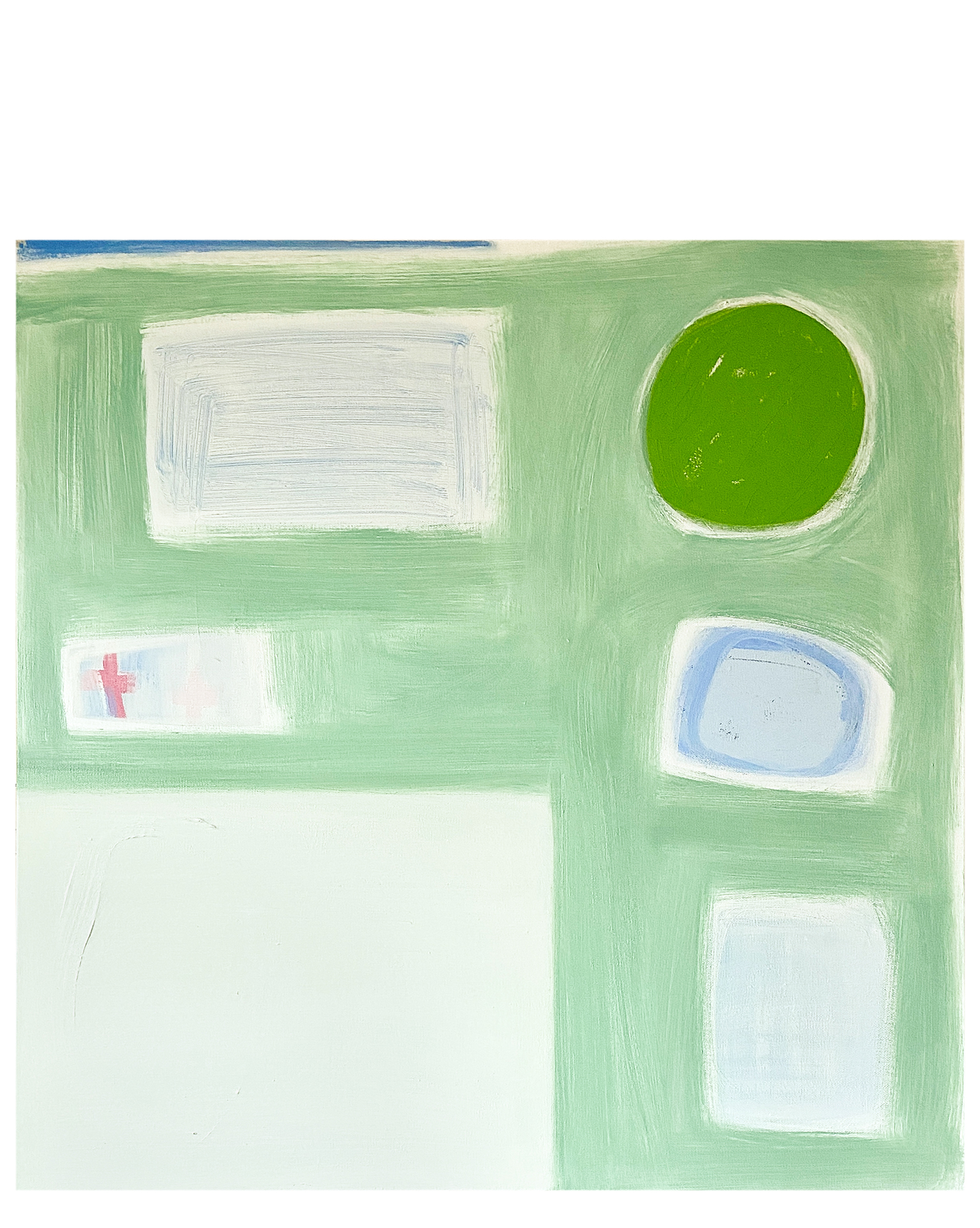 """""""white + lime"""" by Laurie Fisher,"""