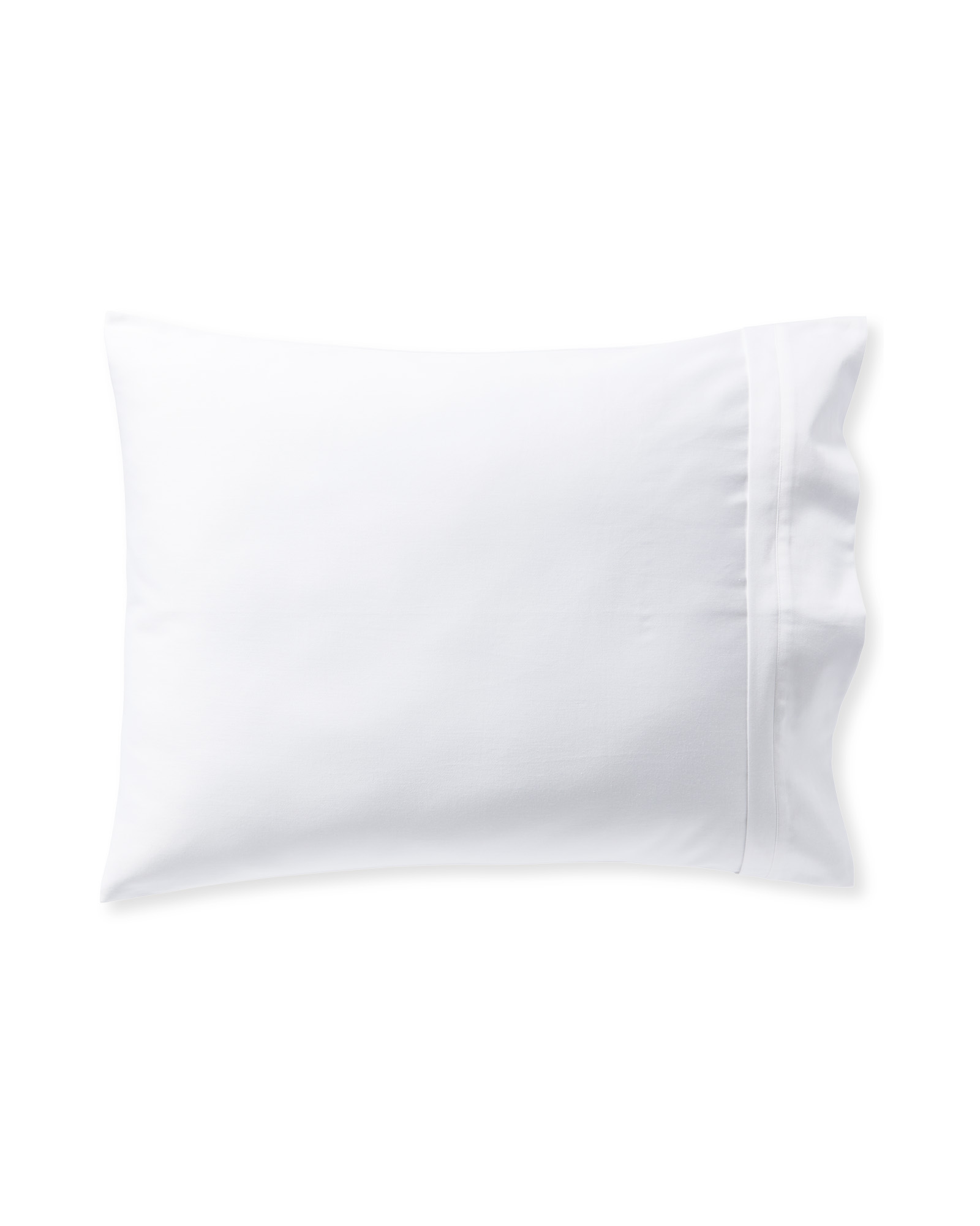 Border Frame Pillowcases (Set of 2), White