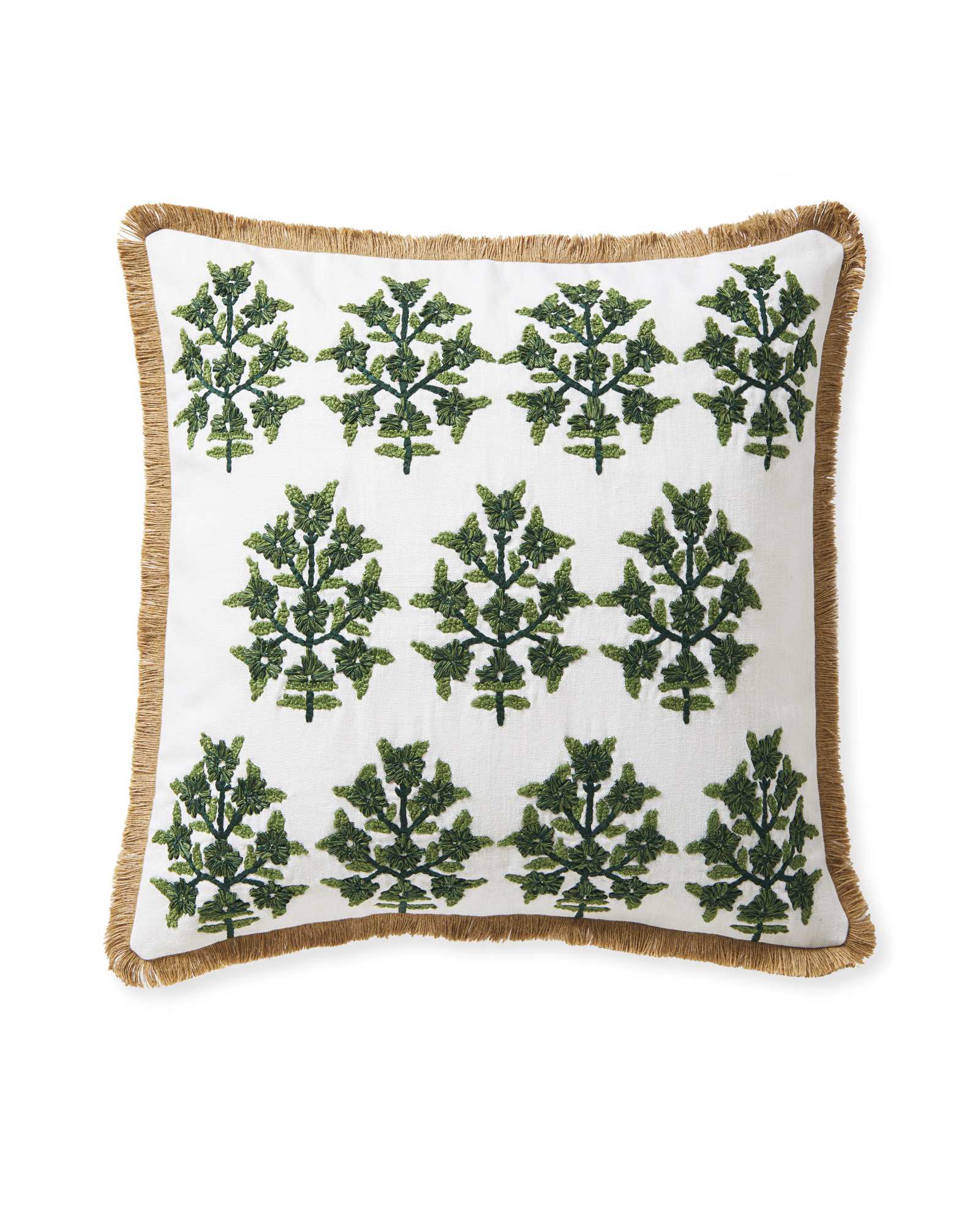 Morningside Pillow Cover, Evergreen/Moss