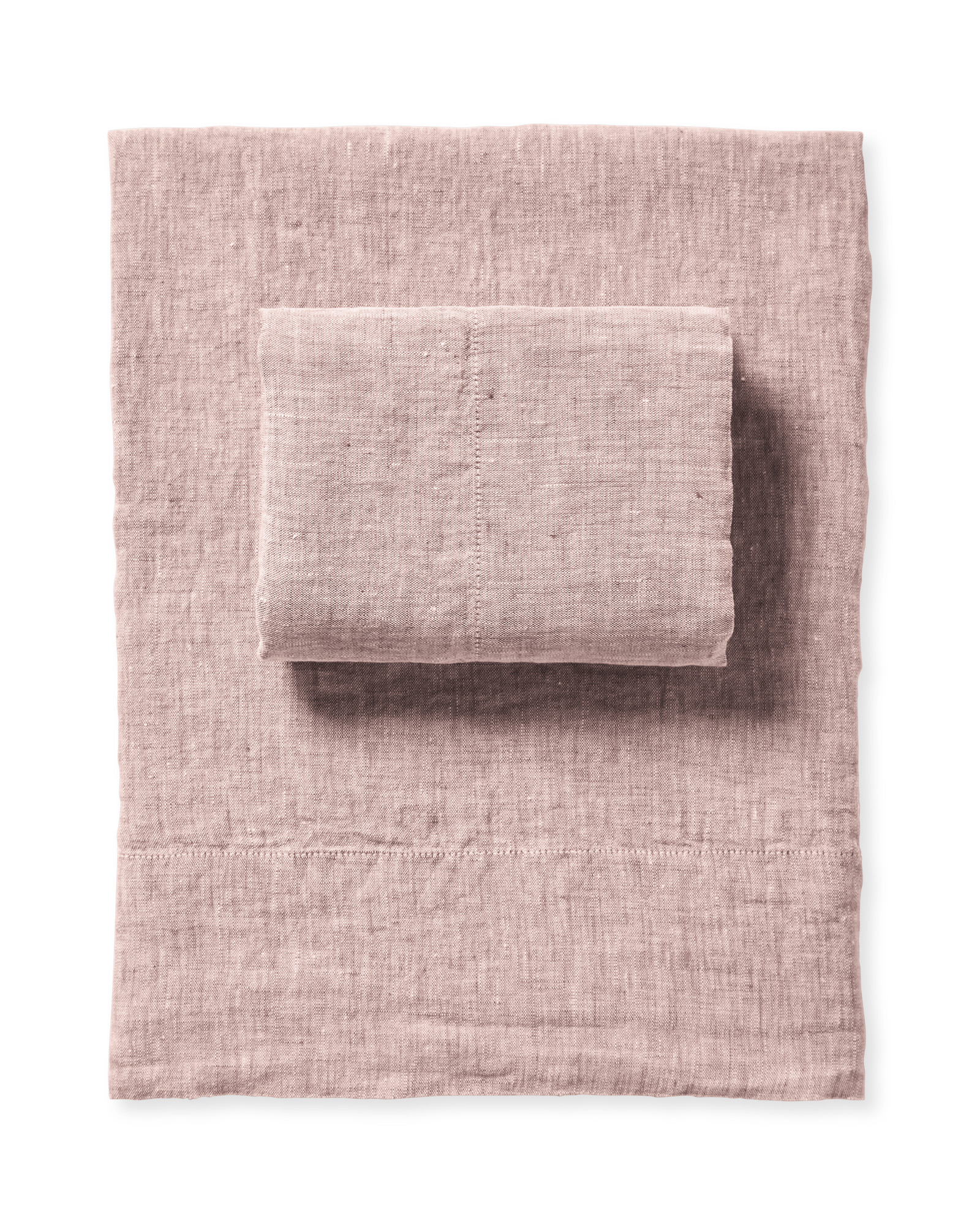 Cavallo Linen Sheet Set, Dusk Chambray