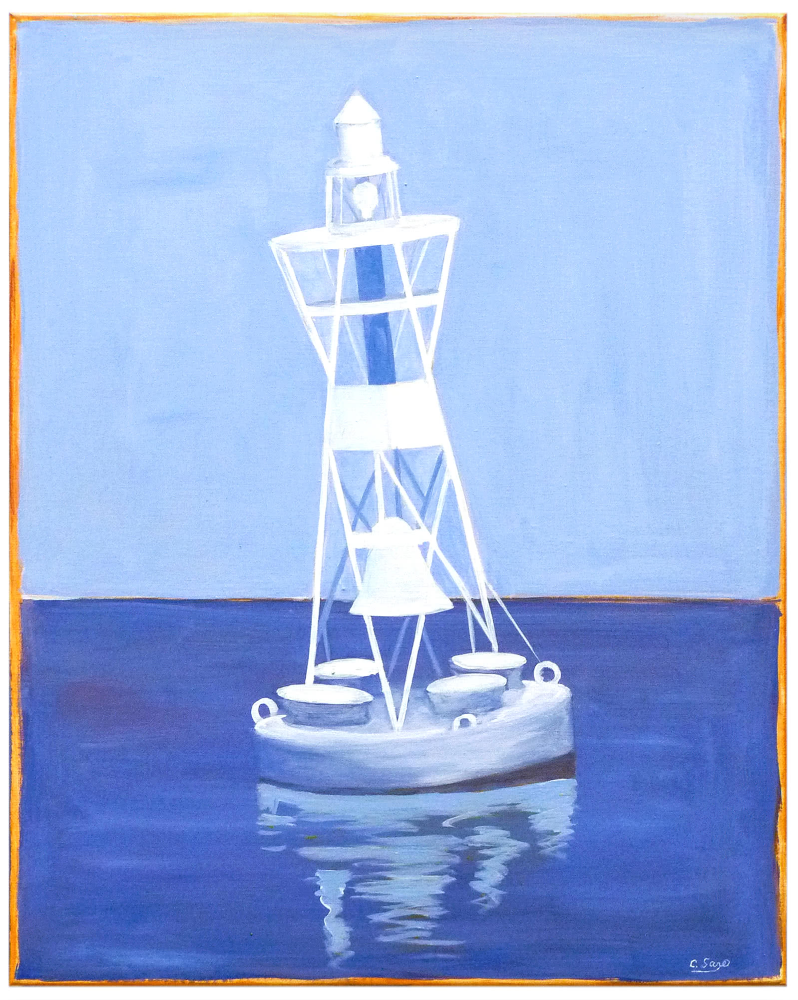 """""""Bell Buoy"""" by Carol Saxe,"""