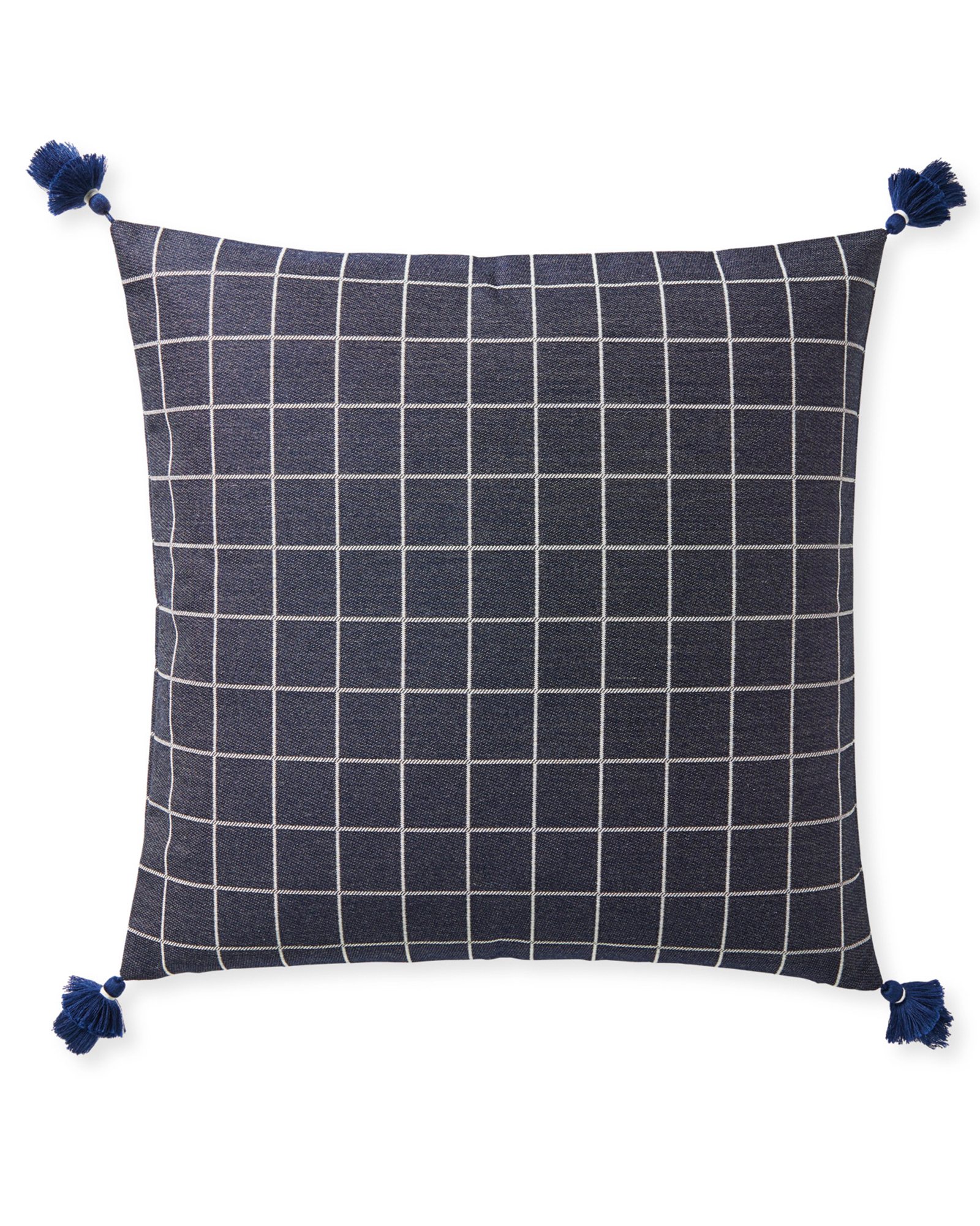 Mayne Pillow Cover, Navy