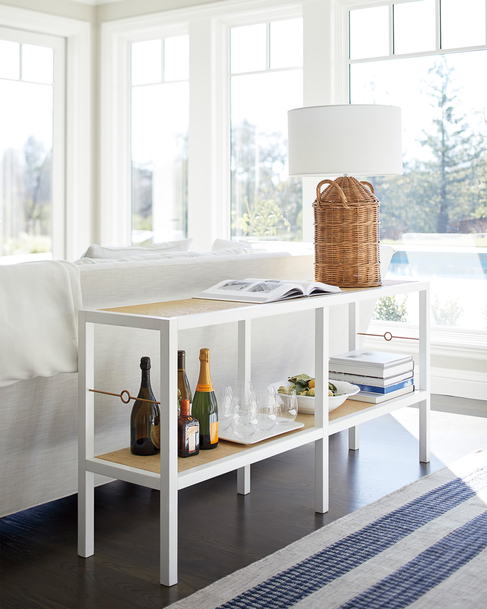 Cabot console - Serena & Lily #sideboards #consoletables