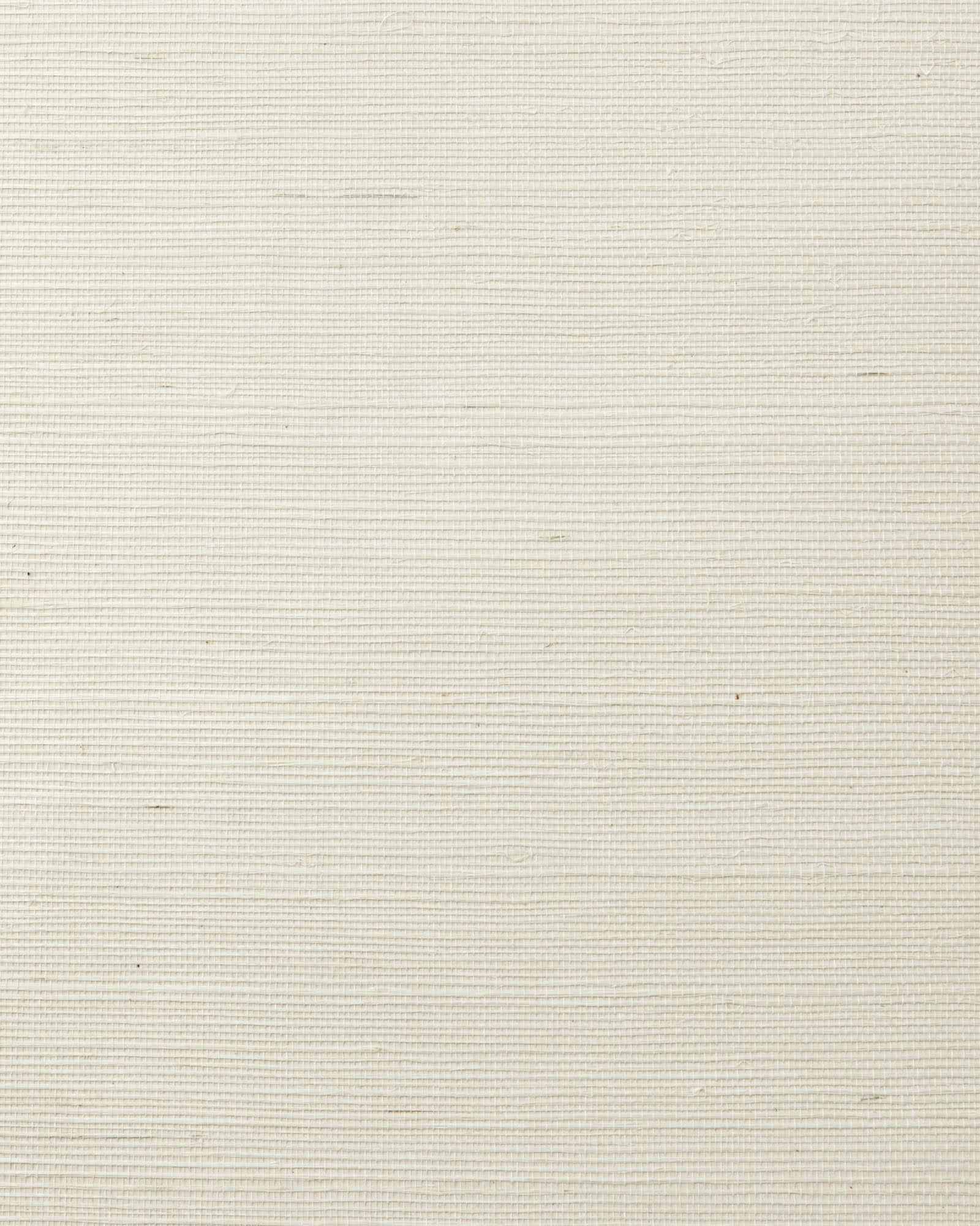 Grasscloth Wallcovering Swatch, Ecru