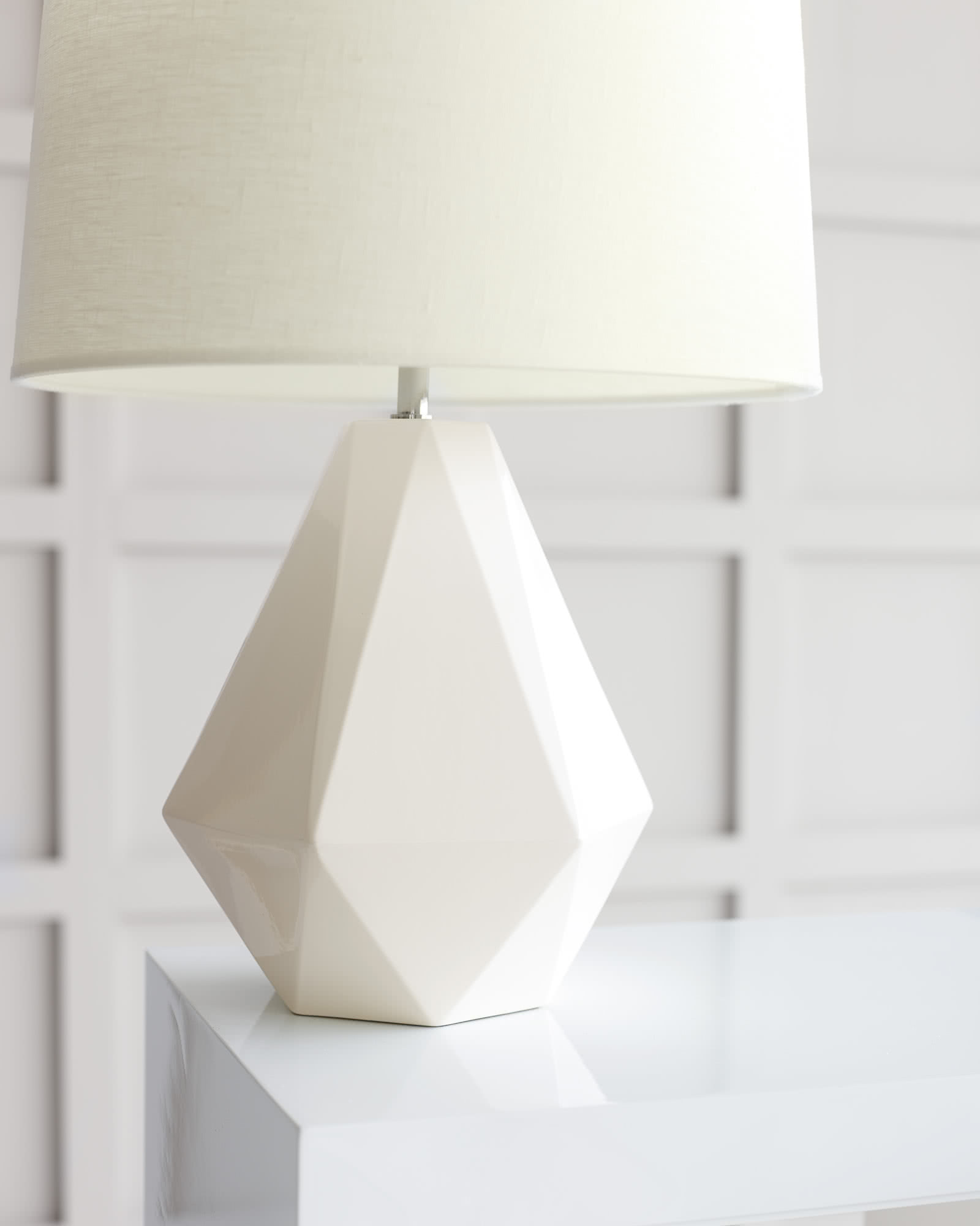 Emory Table Lamp - White