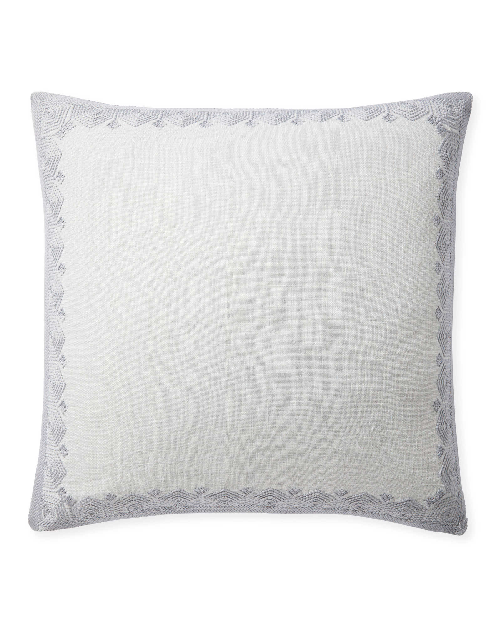 Olympia Pillow Cover, Fog