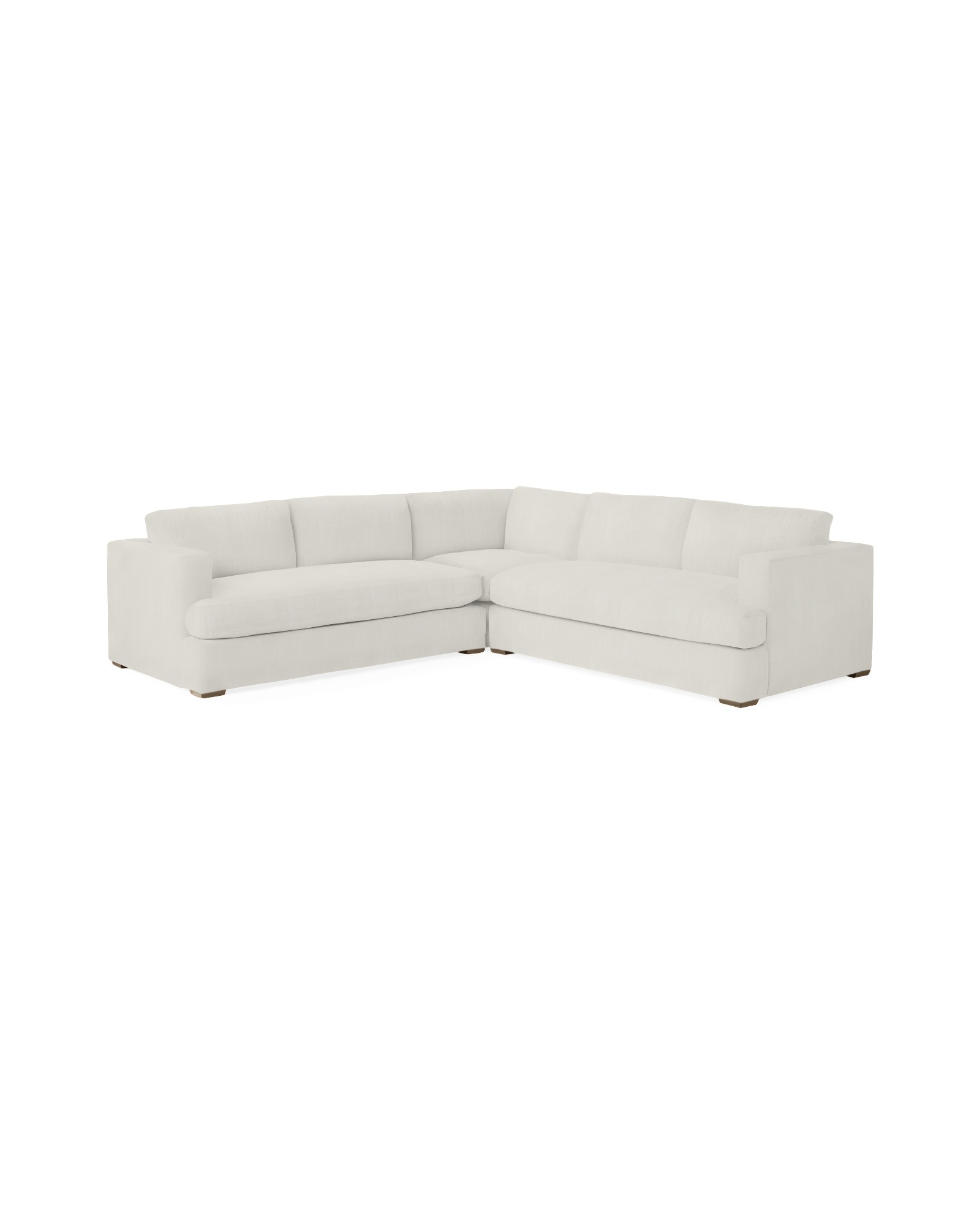 Norfolk Corner Sectional - Perennials® Chalk Basketweave,