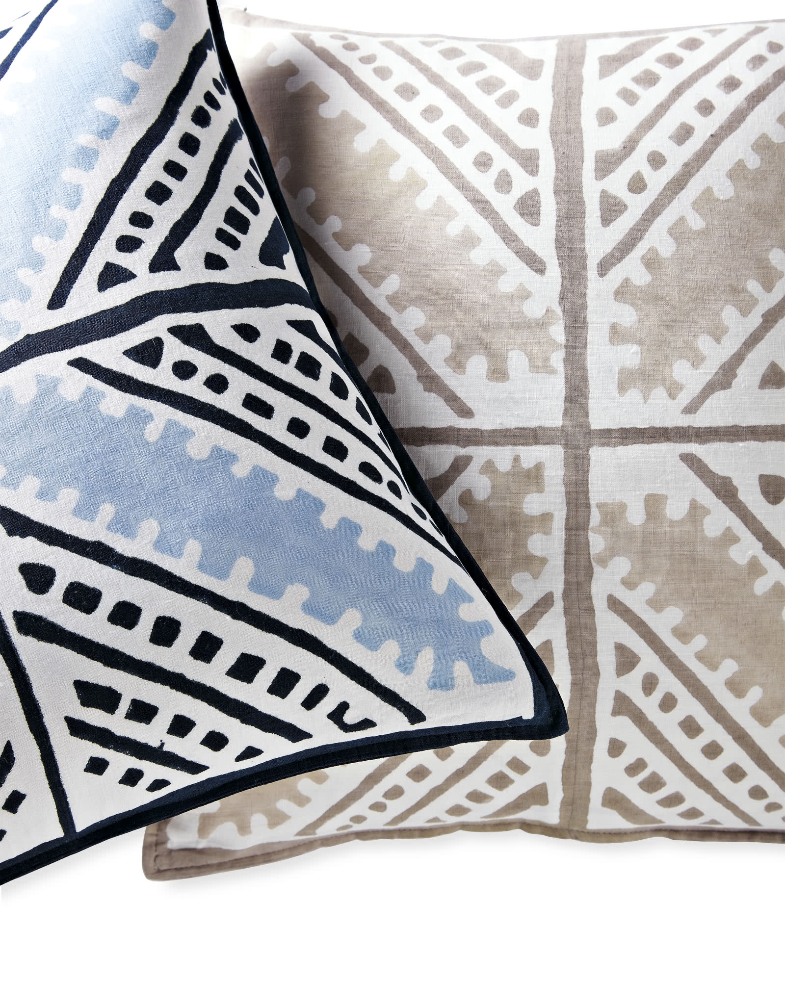 Sienna Large Tile Pillow Cover