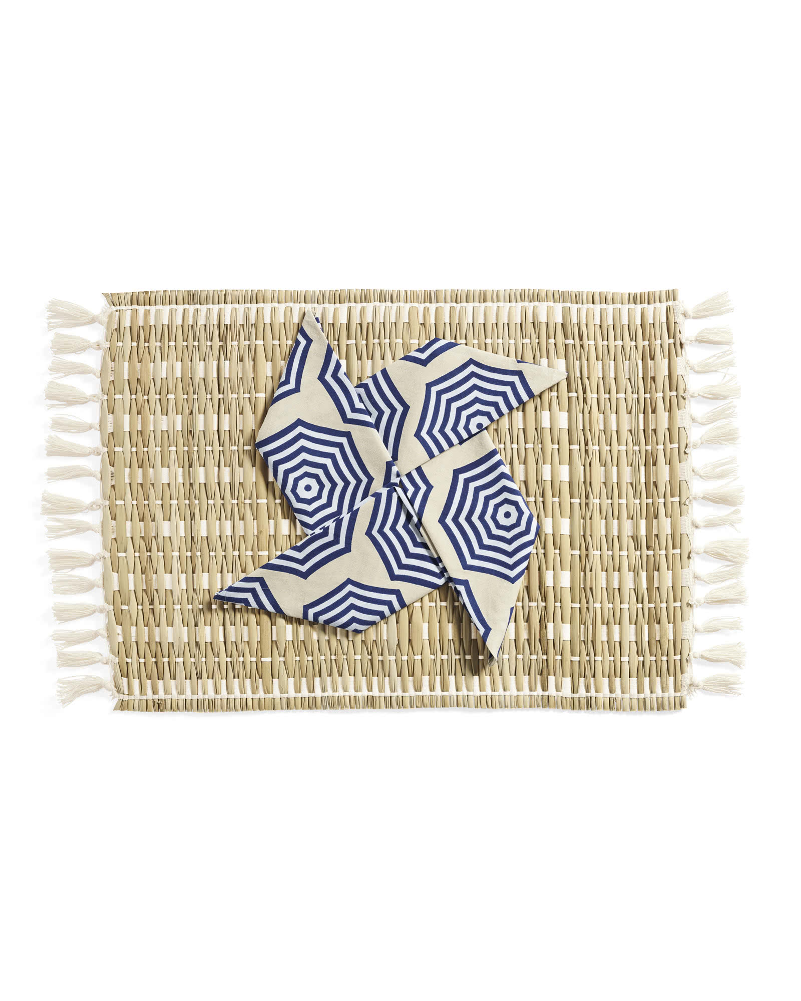 Cabo Woven Placemats (Set of 4), Natural