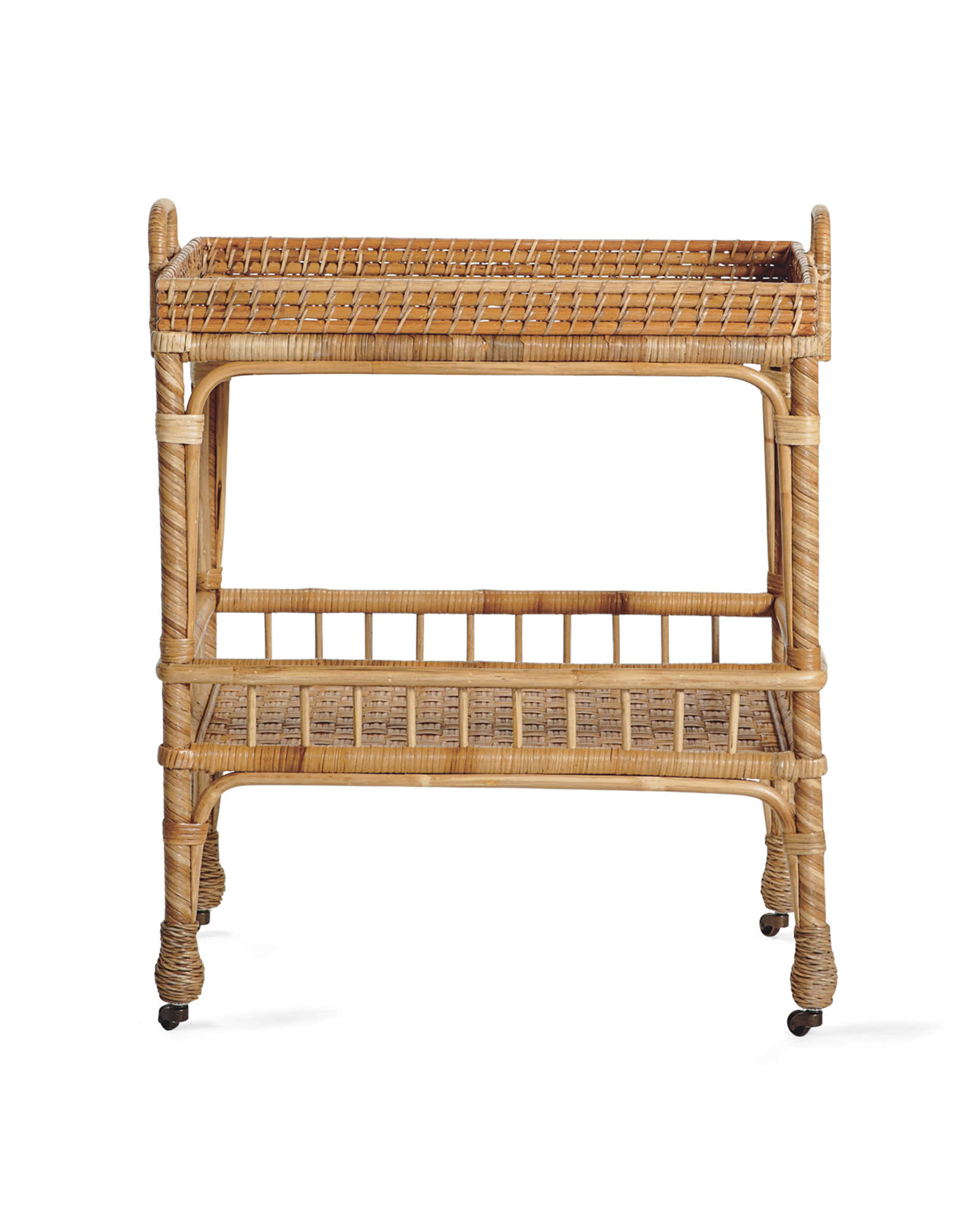 South Seas Side Cart, Natural